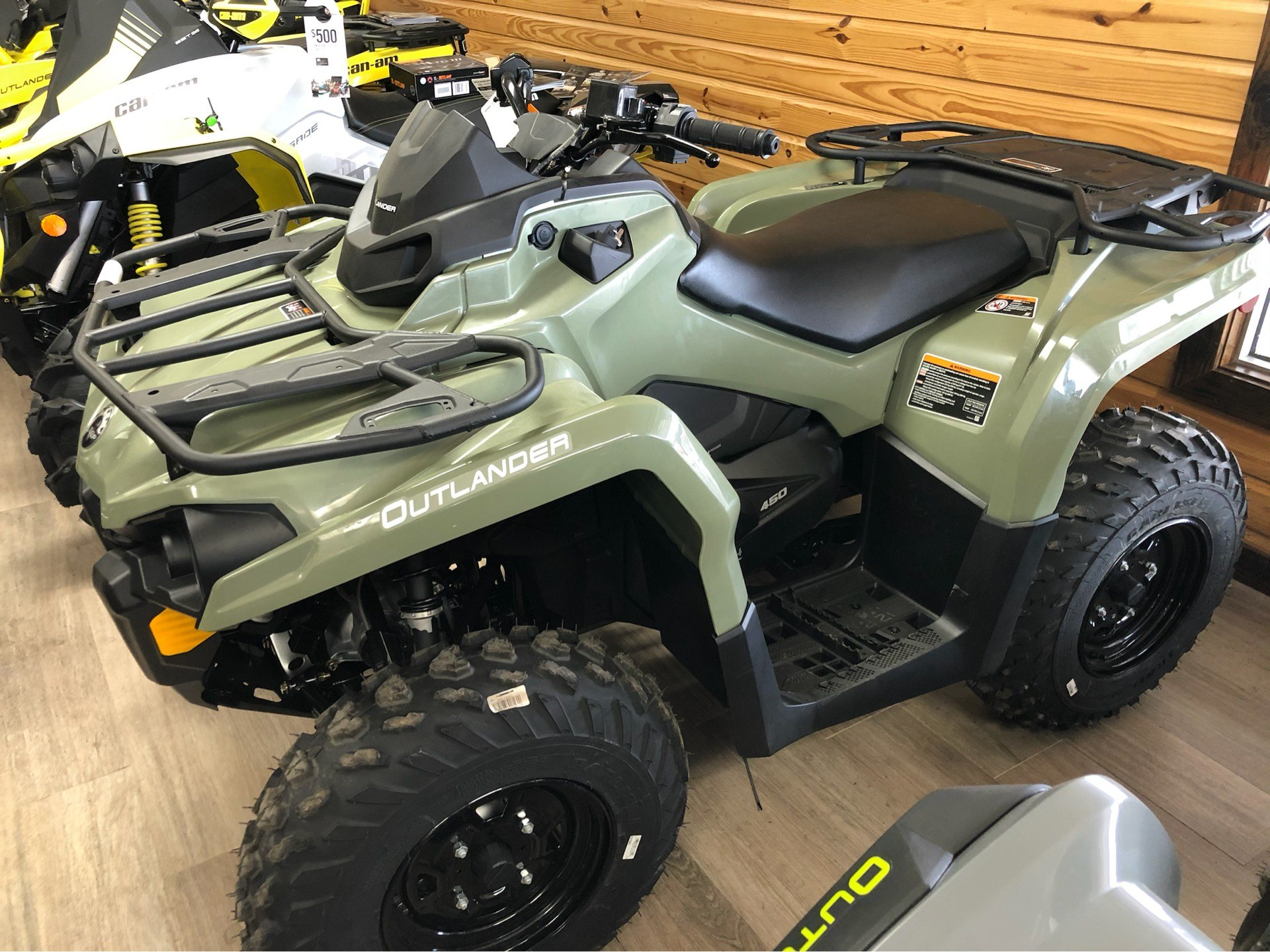 2019 Can-Am Outlander 450 in Saucier, Mississippi - Photo 9