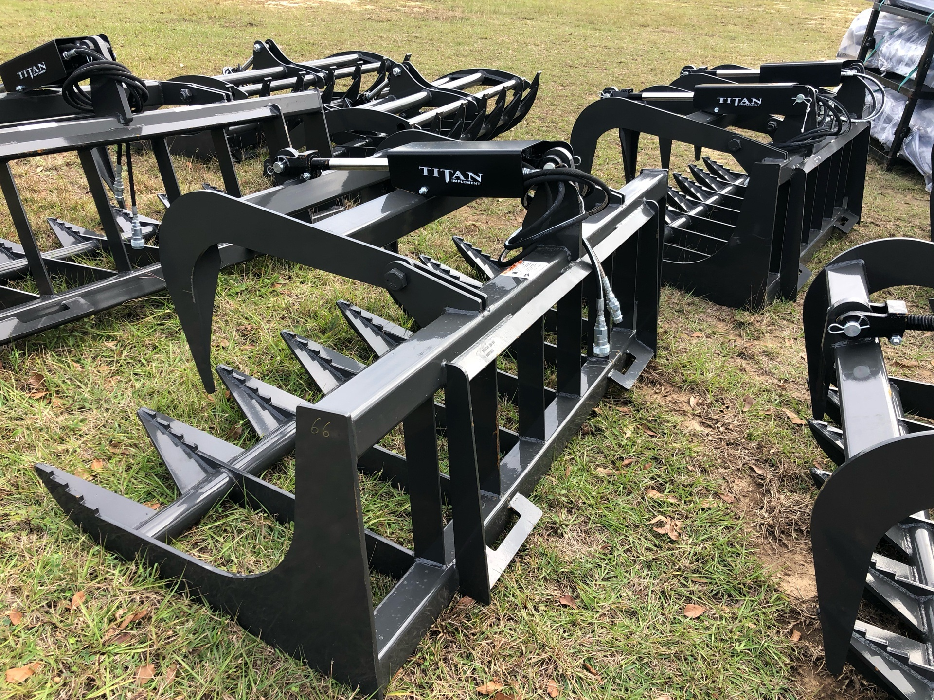 2021 Titan Implement 5 1/2' Root Grapple - Single Lid - SERG66 in Saucier, Mississippi - Photo 4