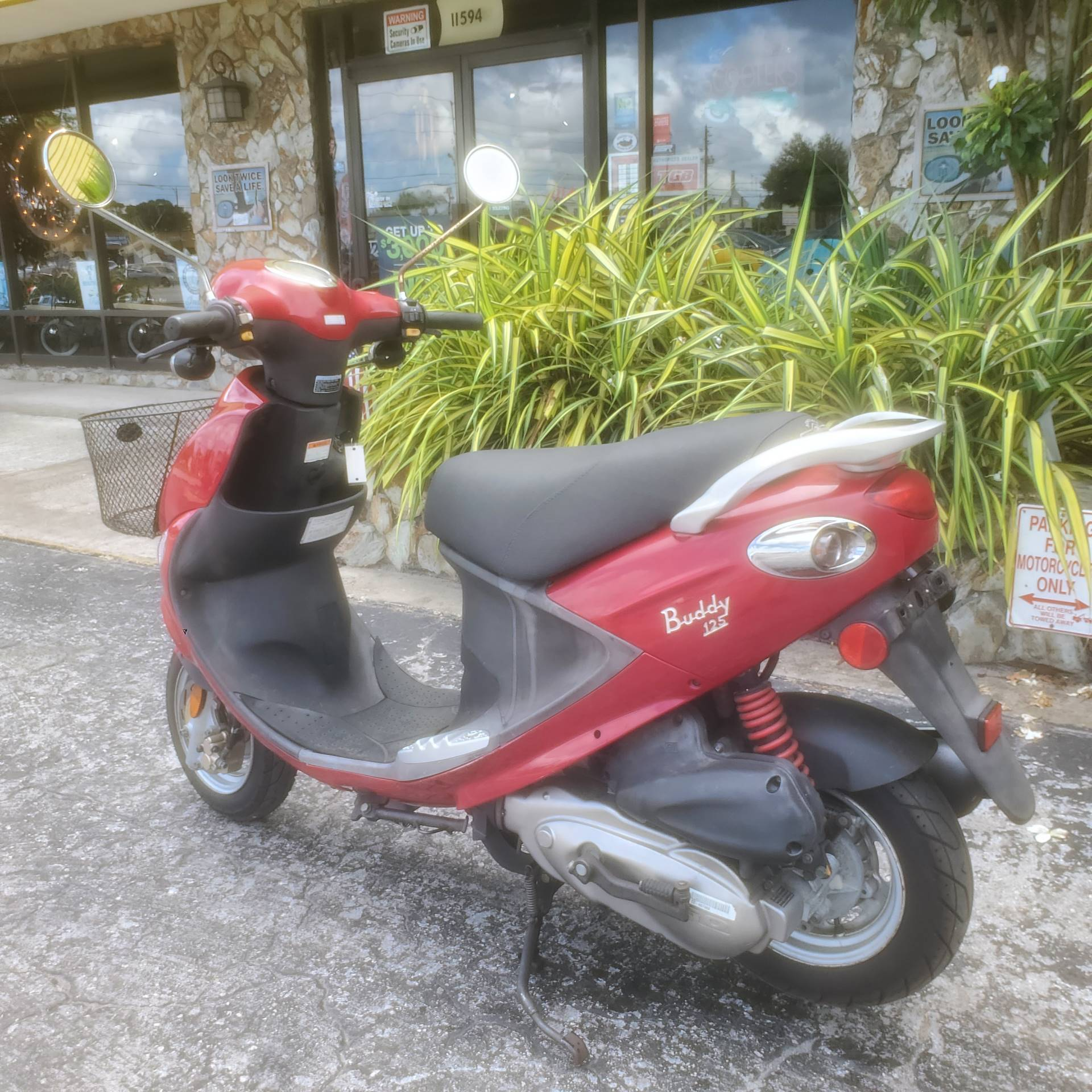 2007 Genuine Scooters Buddy 125 in Largo, Florida - Photo 8