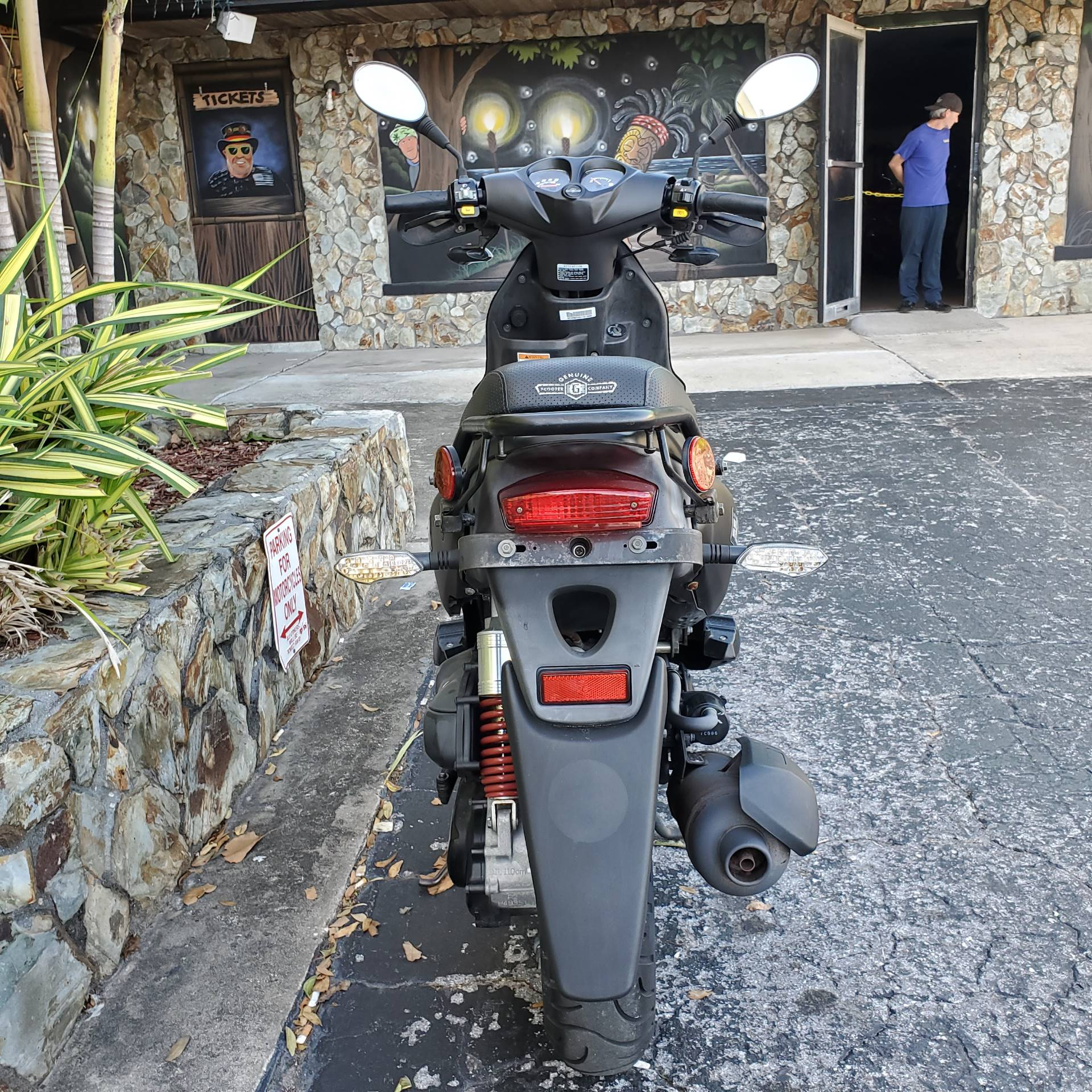 2018 Genuine Scooters Roughhouse 50 Sport in Largo, Florida - Photo 4