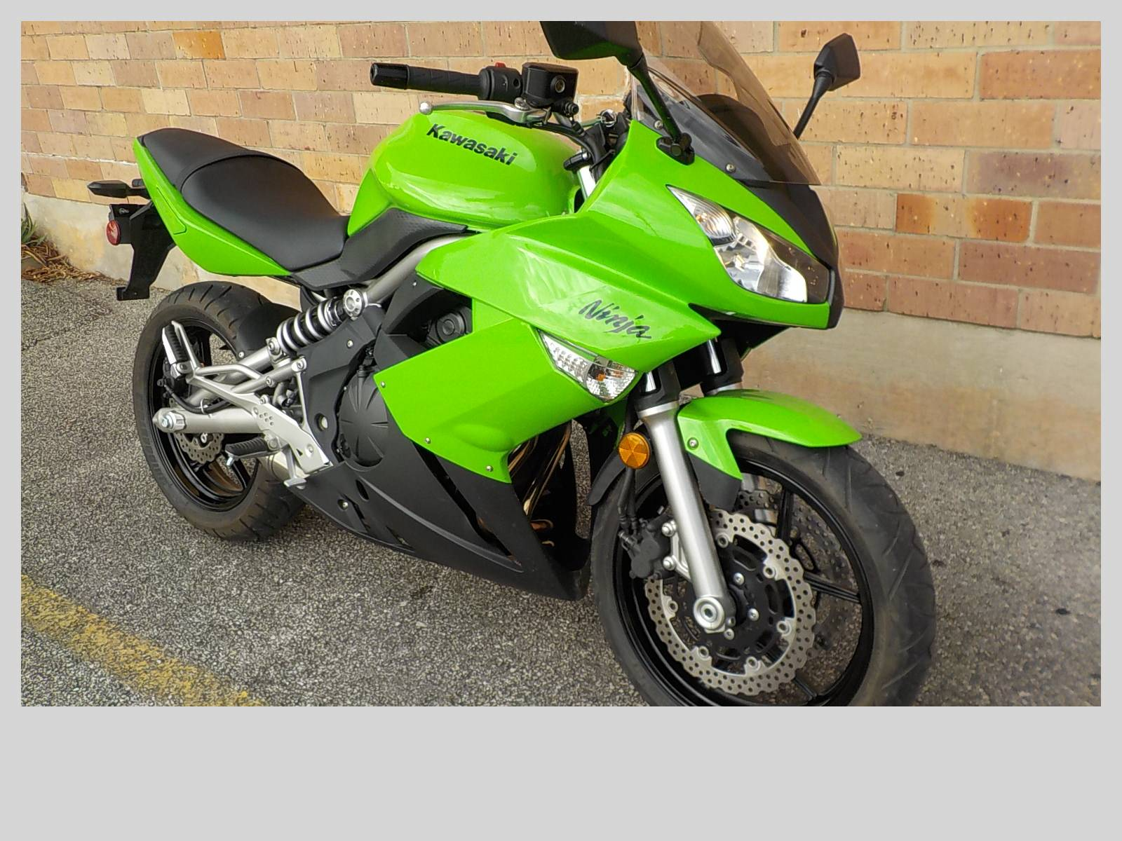 2009 Kawasaki Ninja® 650R in San Antonio, Texas - Photo 3