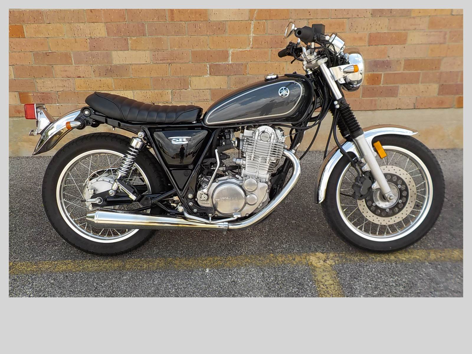 2015 Yamaha SR400 in San Antonio, Texas - Photo 1