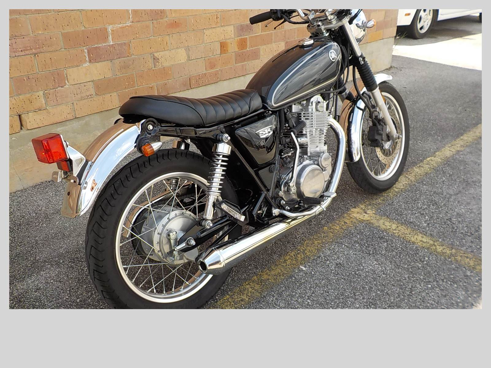 2015 Yamaha SR400 in San Antonio, Texas - Photo 5