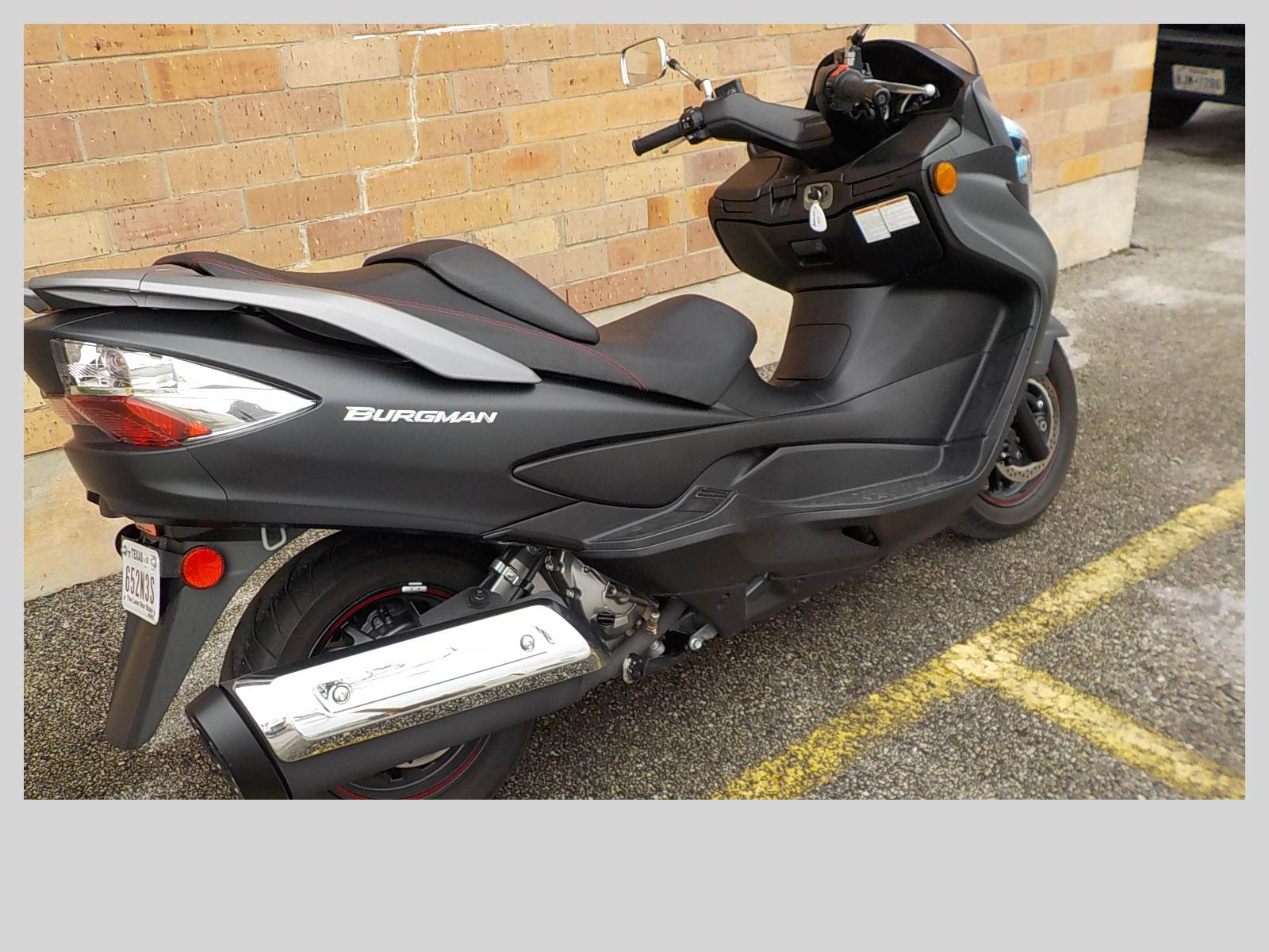 2013 Suzuki Burgman™ 400 ABS in San Antonio, Texas
