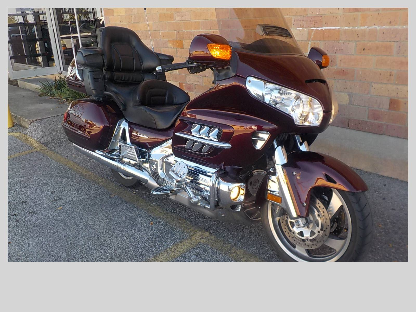 2006 Honda Gold Wing® Audio / Comfort / Navi in San Antonio, Texas - Photo 3