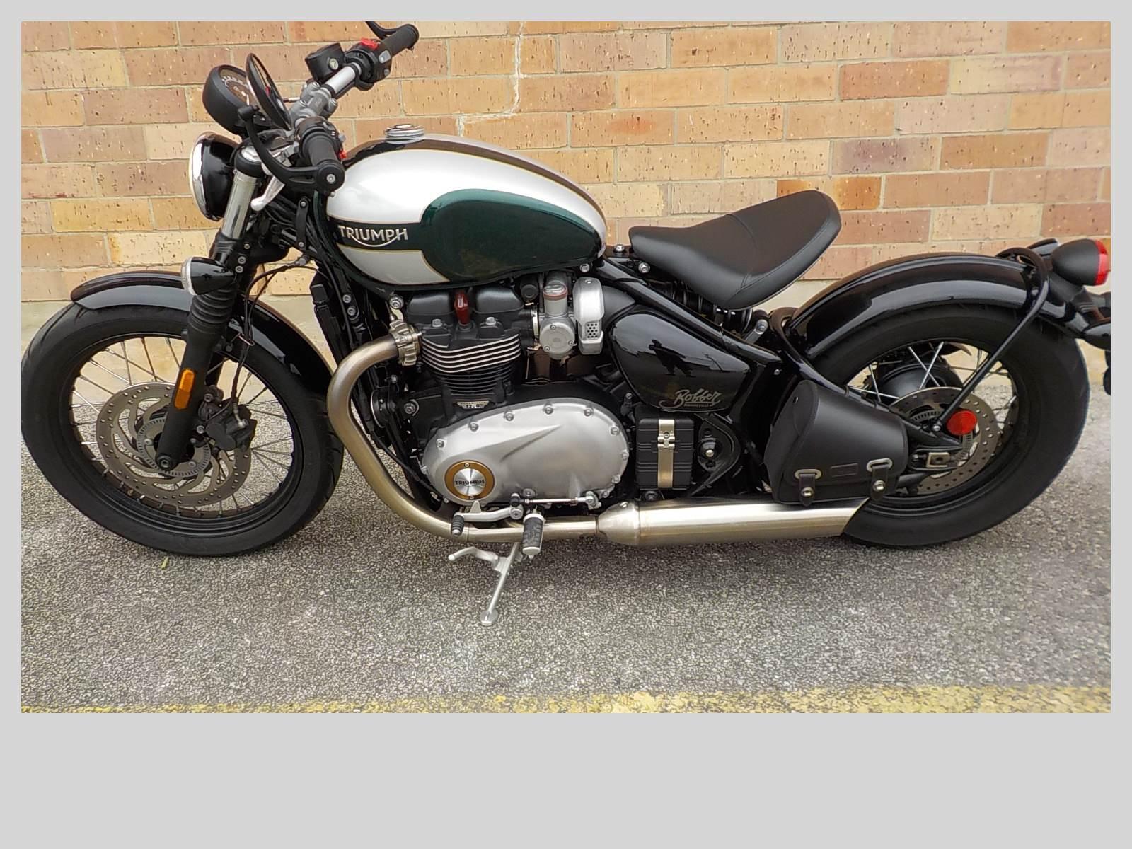 Used 2017 Triumph Bonneville Bobber Motorcycles in San Antonio, TX