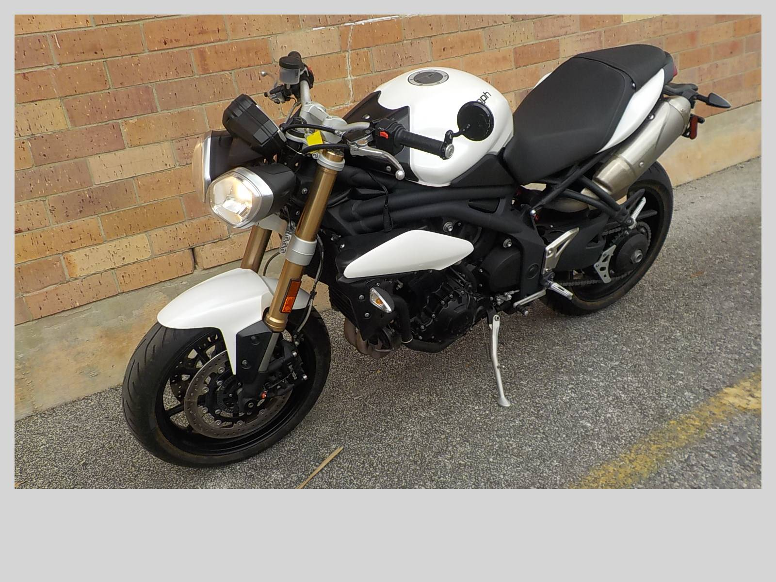 2013 Triumph Speed Triple ABS in San Antonio, Texas - Photo 4