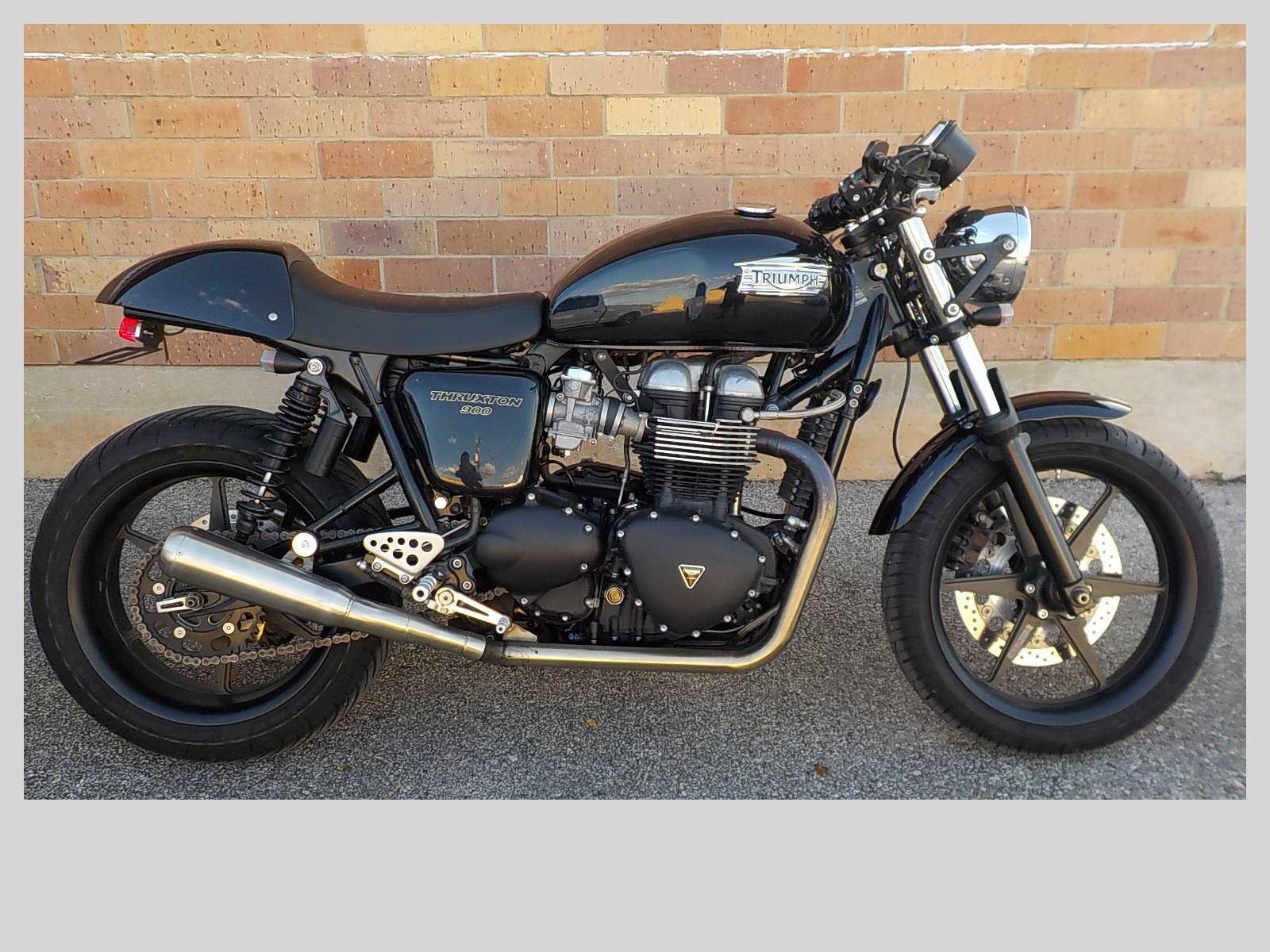 2011 Triumph Thruxton in San Antonio, Texas - Photo 1