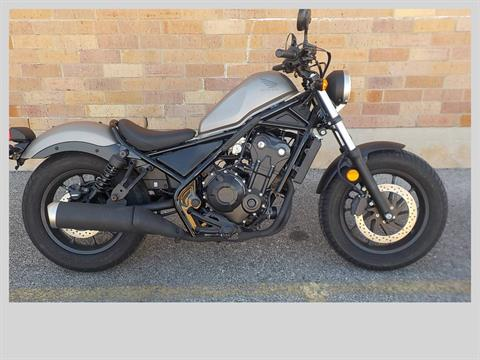 2017 Honda Rebel 500 in San Antonio, Texas - Photo 1
