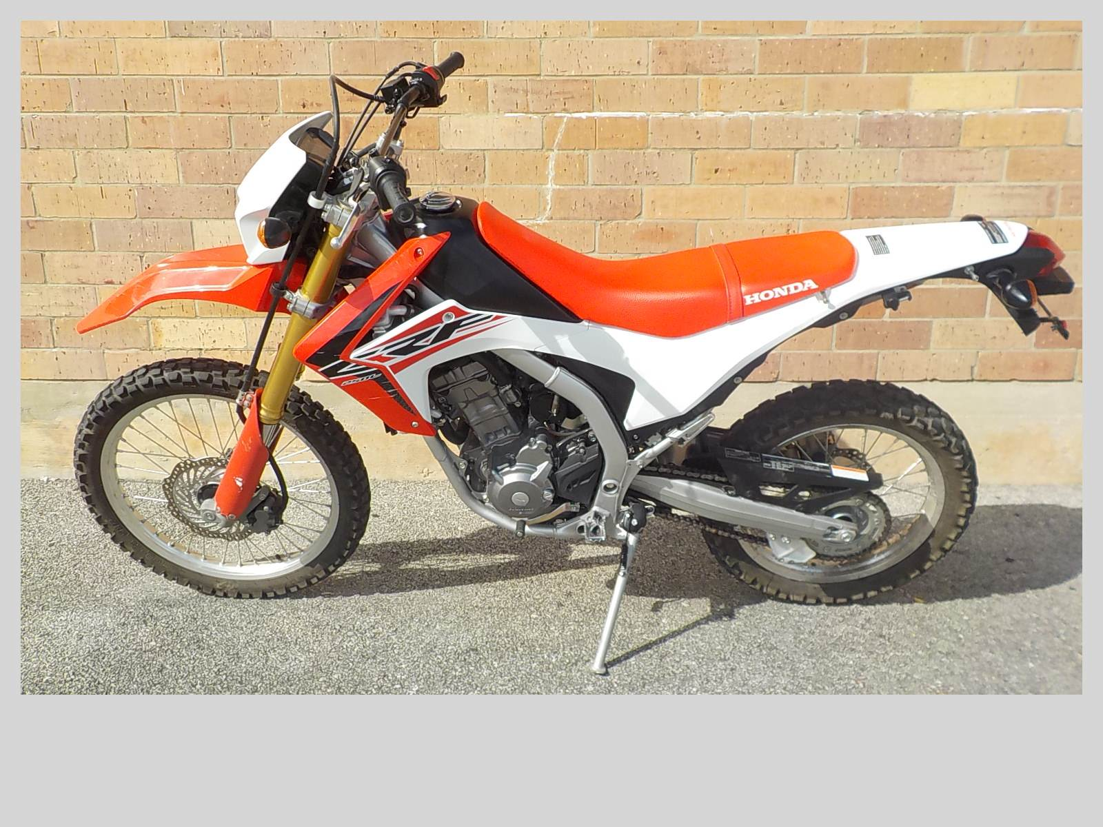 2016 Honda CRF250L in San Antonio, Texas