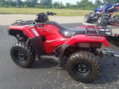 2016 Honda FourTrax Rancher 4X4 Automatic DCT IRS EPS in Paw Paw, Michigan