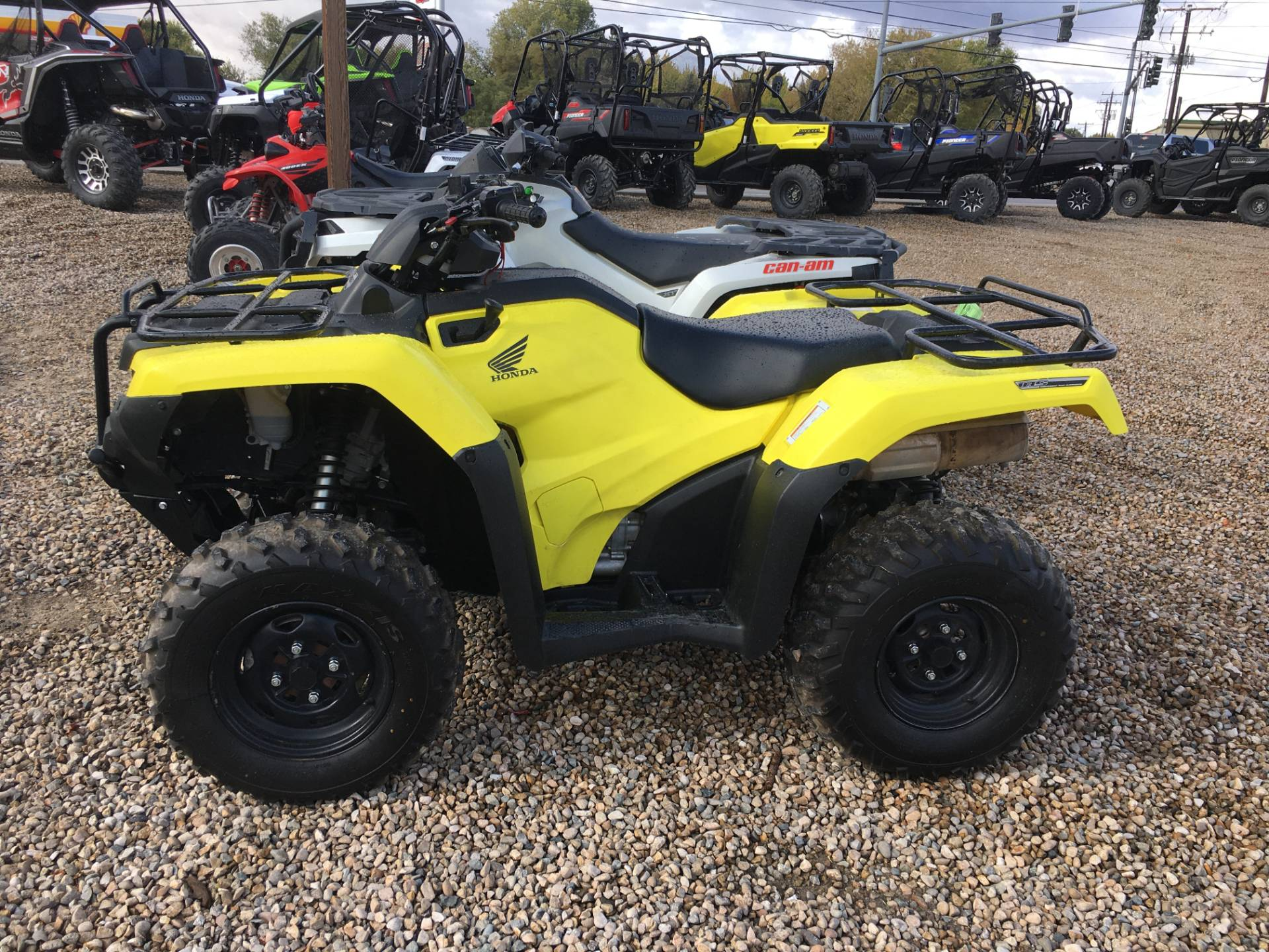 2018 Honda FourTrax Rancher 4x4 DCT IRS EPS in Nampa, Idaho - Photo 4