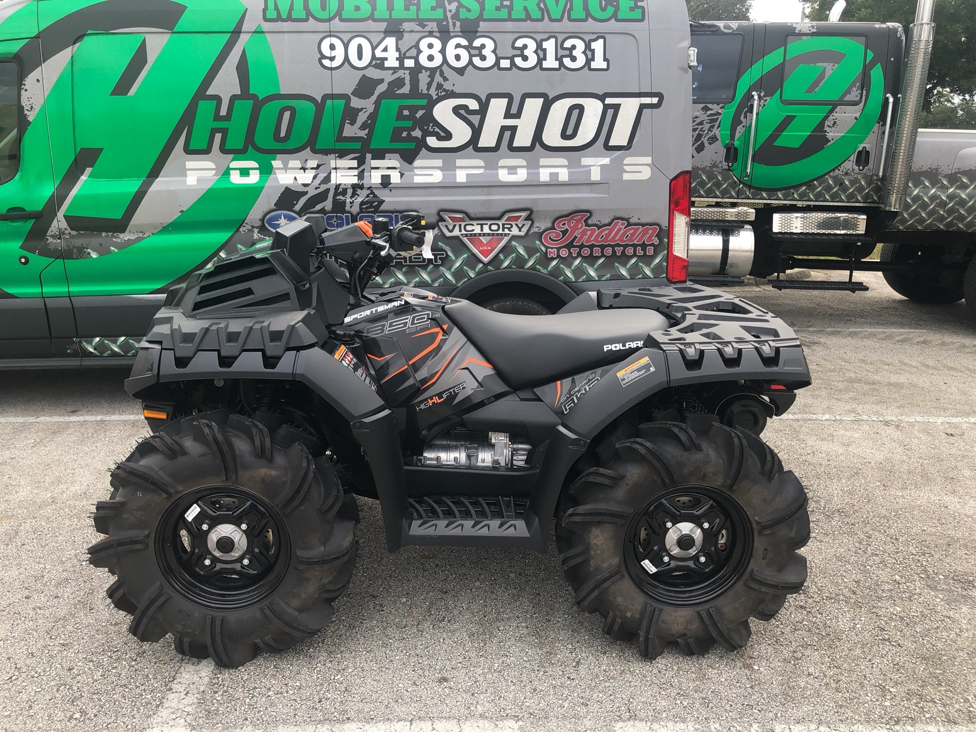 2019 Polaris Sportsman 850 High Lifter Edition in Fleming Island, Florida - Photo 1