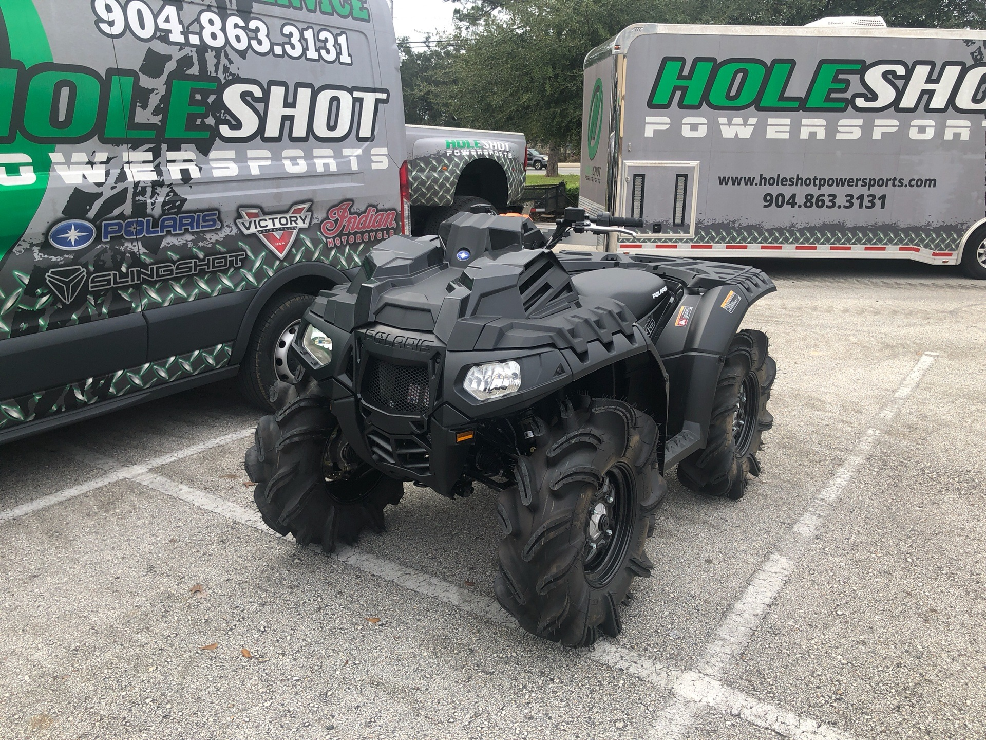 2019 Polaris Sportsman 850 High Lifter Edition in Fleming Island, Florida - Photo 2