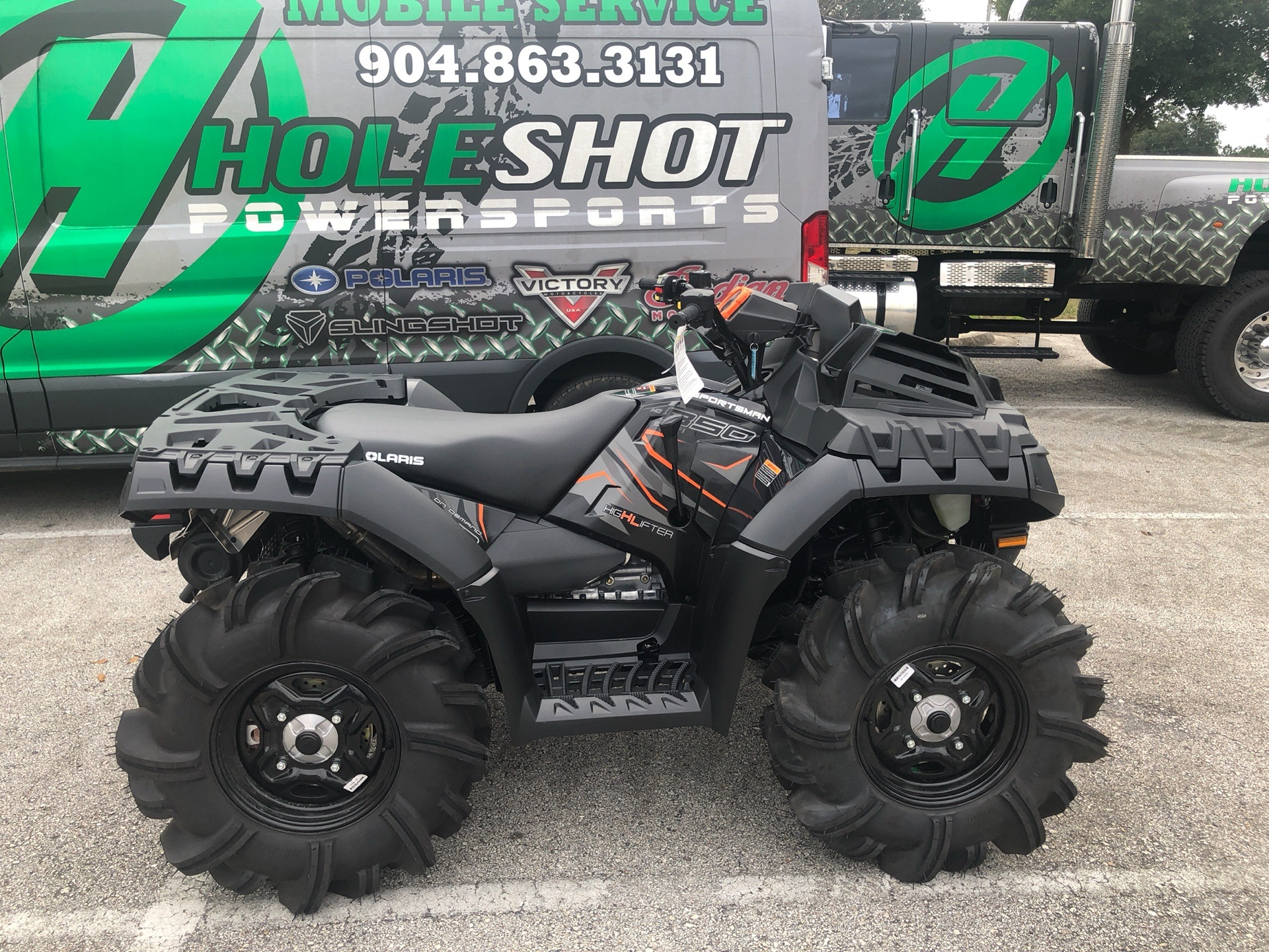 2019 Polaris Sportsman 850 High Lifter Edition in Fleming Island, Florida - Photo 3