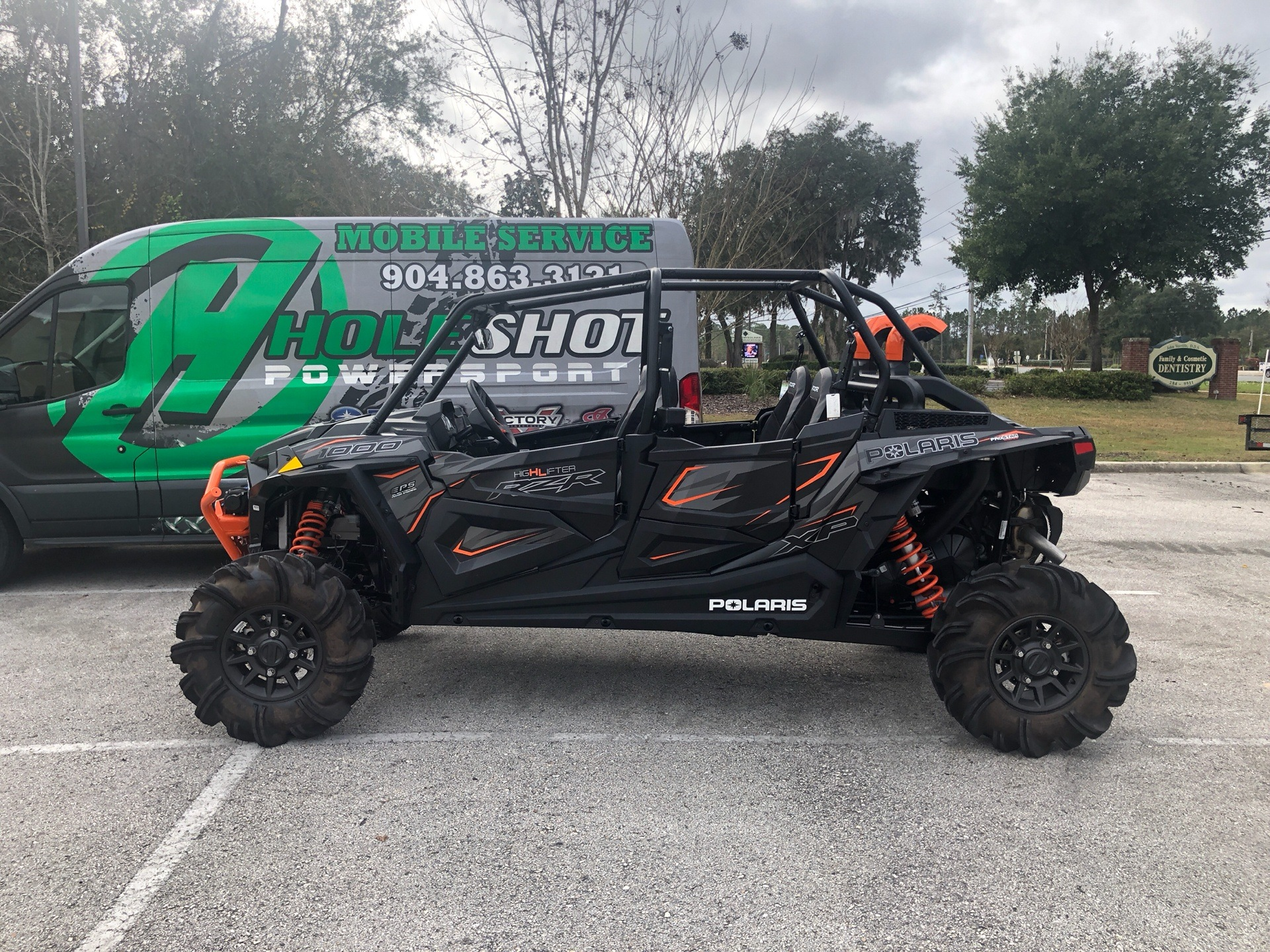 2019 Polaris RZR XP 4 1000 High Lifter in Fleming Island, Florida - Photo 2