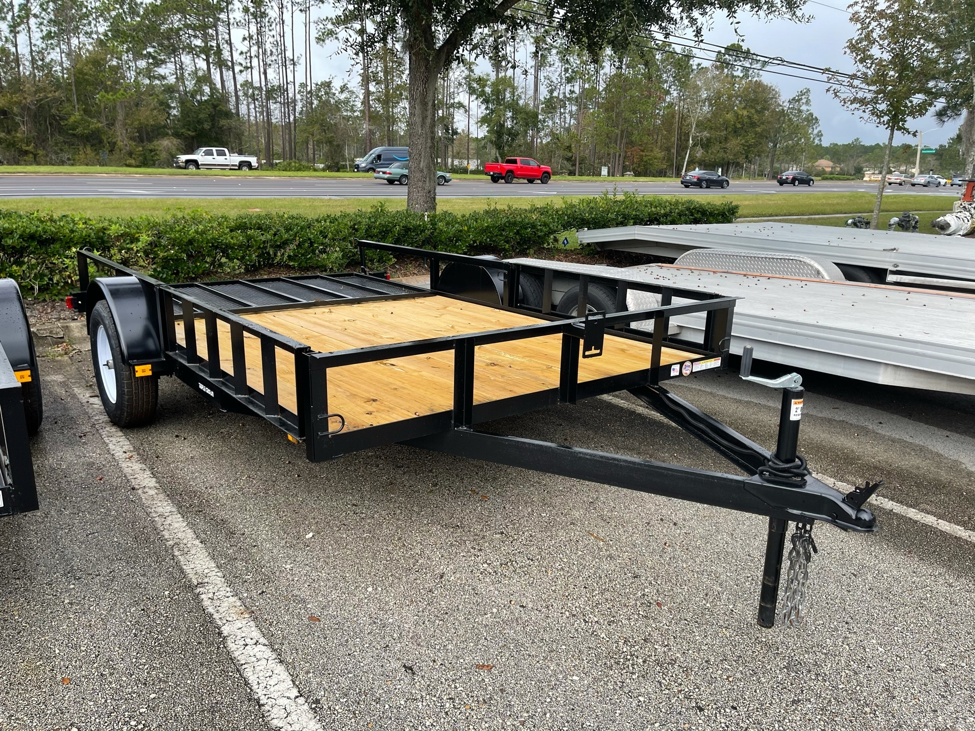 2021 TRIPLE CROWN TRAILERS 7X12 ATV UTILITY in Fleming Island, Florida - Photo 4