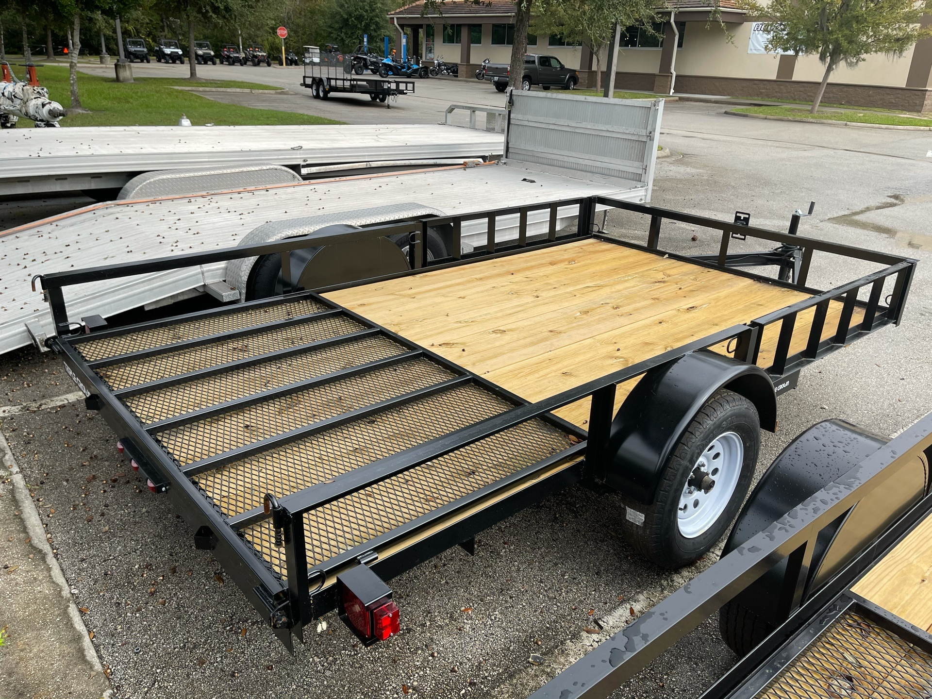 2021 TRIPLE CROWN TRAILERS 7X12 ATV UTILITY in Fleming Island, Florida - Photo 5