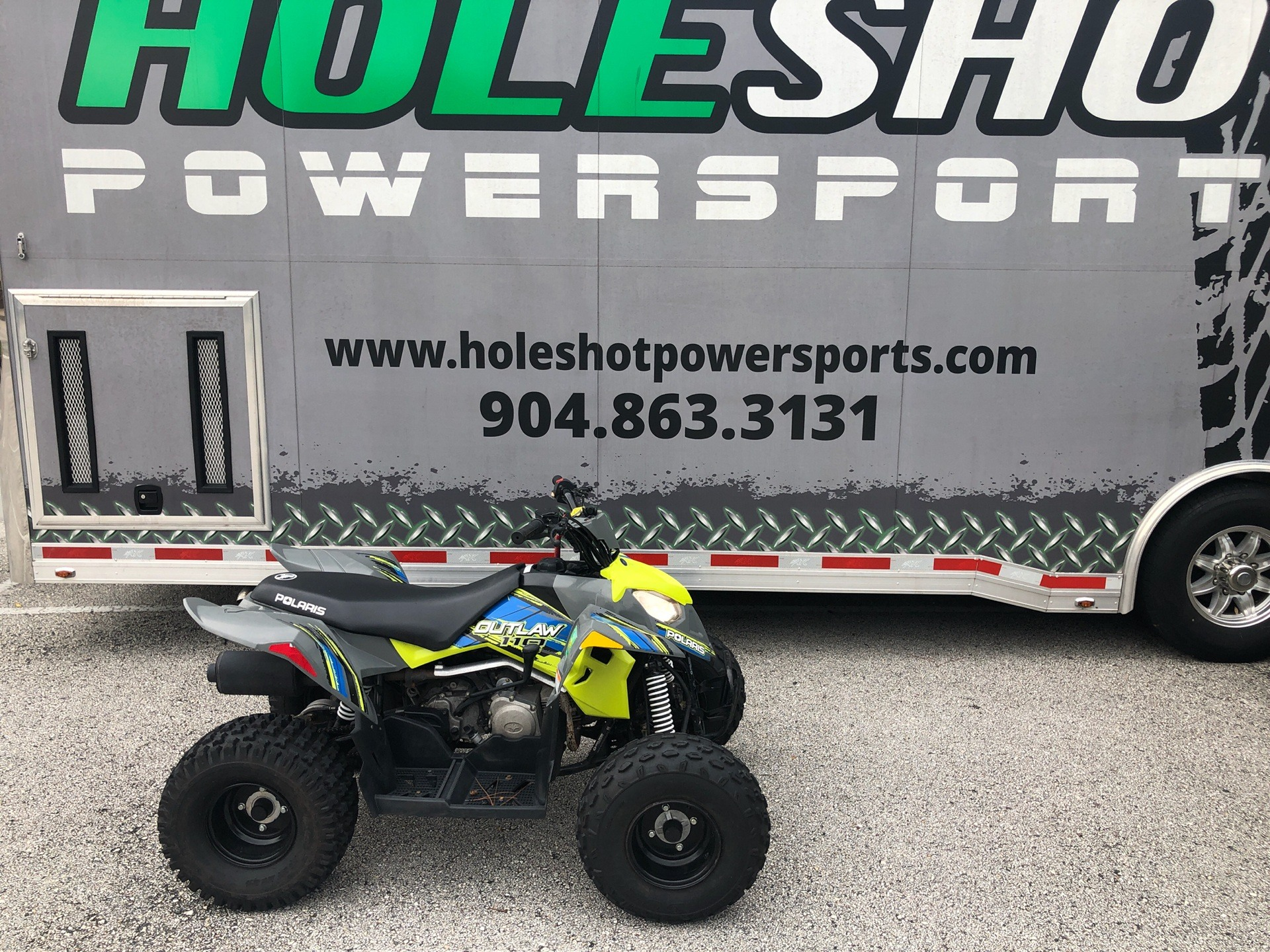 2020 Polaris Outlaw 110 in Fleming Island, Florida - Photo 1