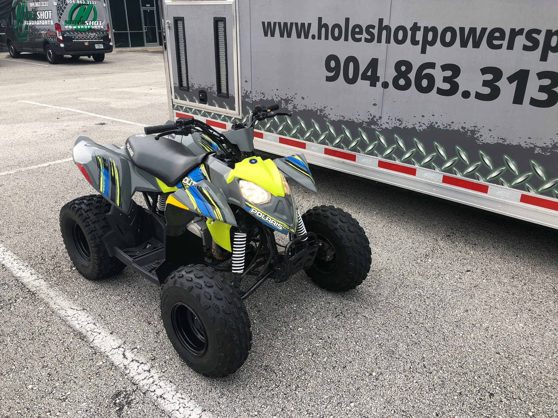 2020 Polaris Outlaw 110 in Fleming Island, Florida - Photo 2