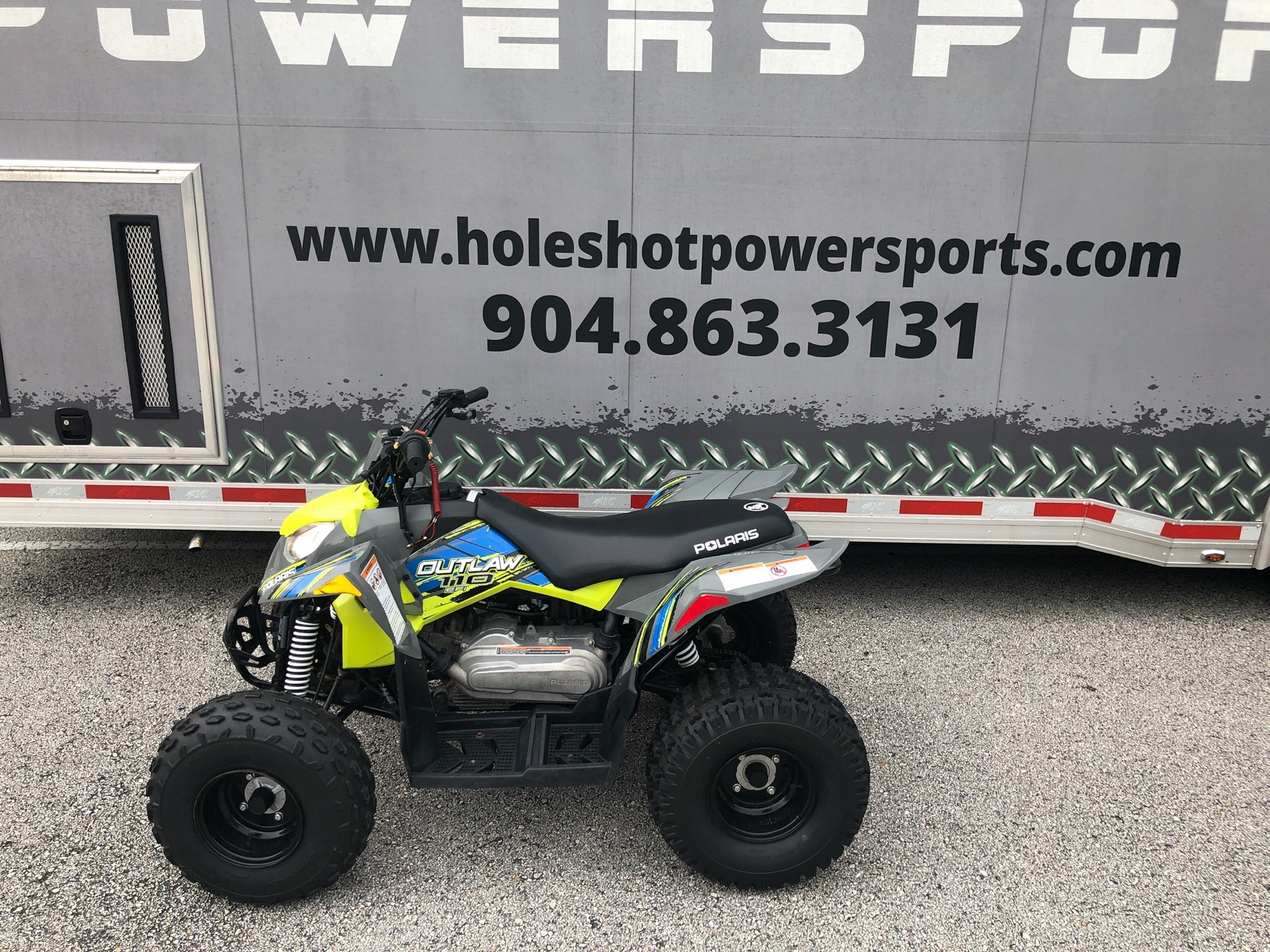 2020 Polaris Outlaw 110 in Fleming Island, Florida - Photo 3