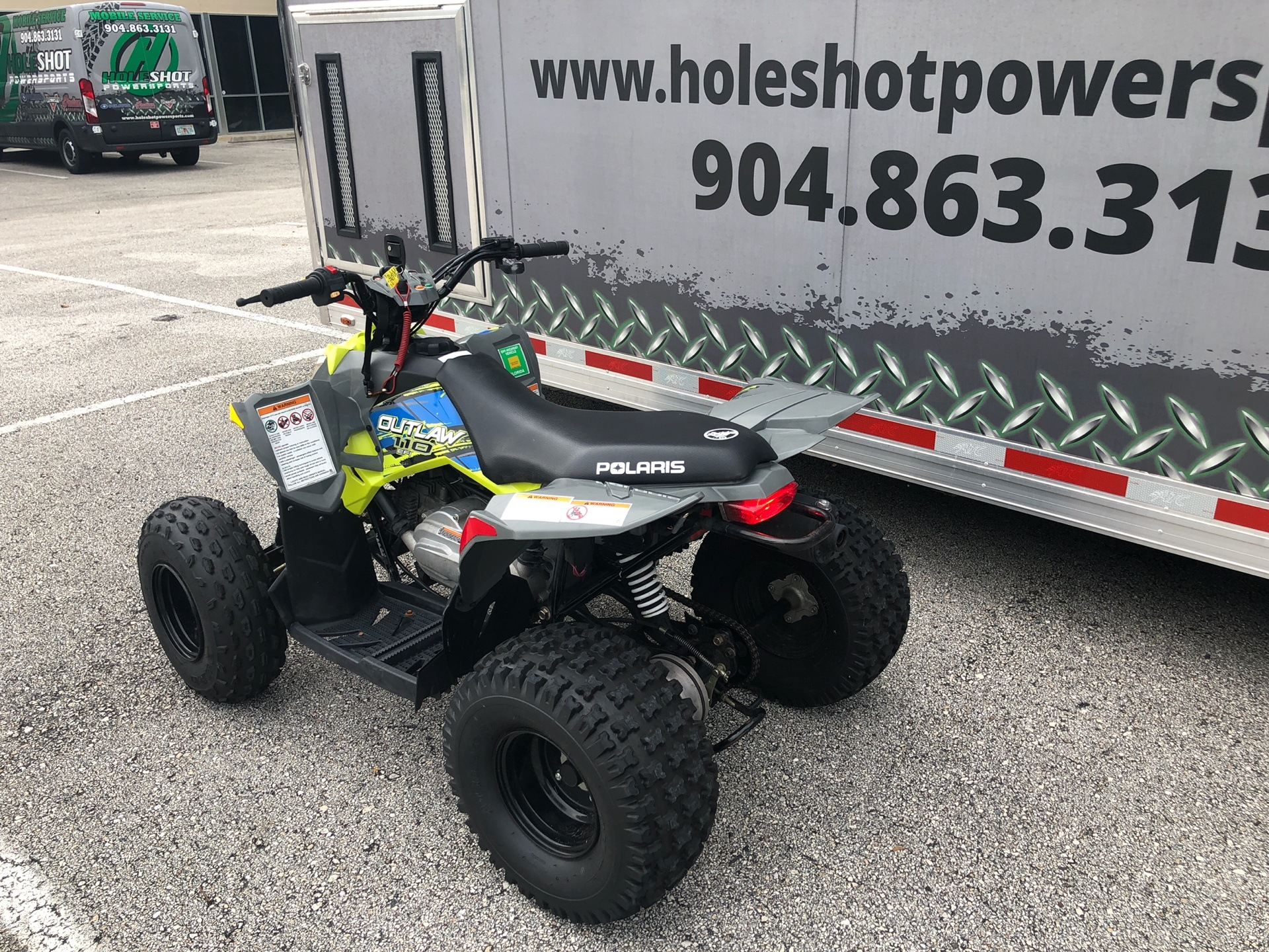2020 Polaris Outlaw 110 in Fleming Island, Florida - Photo 4