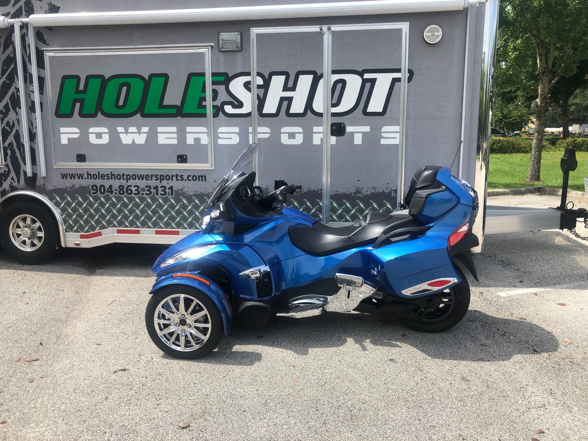 2018 Can-Am Spyder RT Limited in Fleming Island, Florida - Photo 1