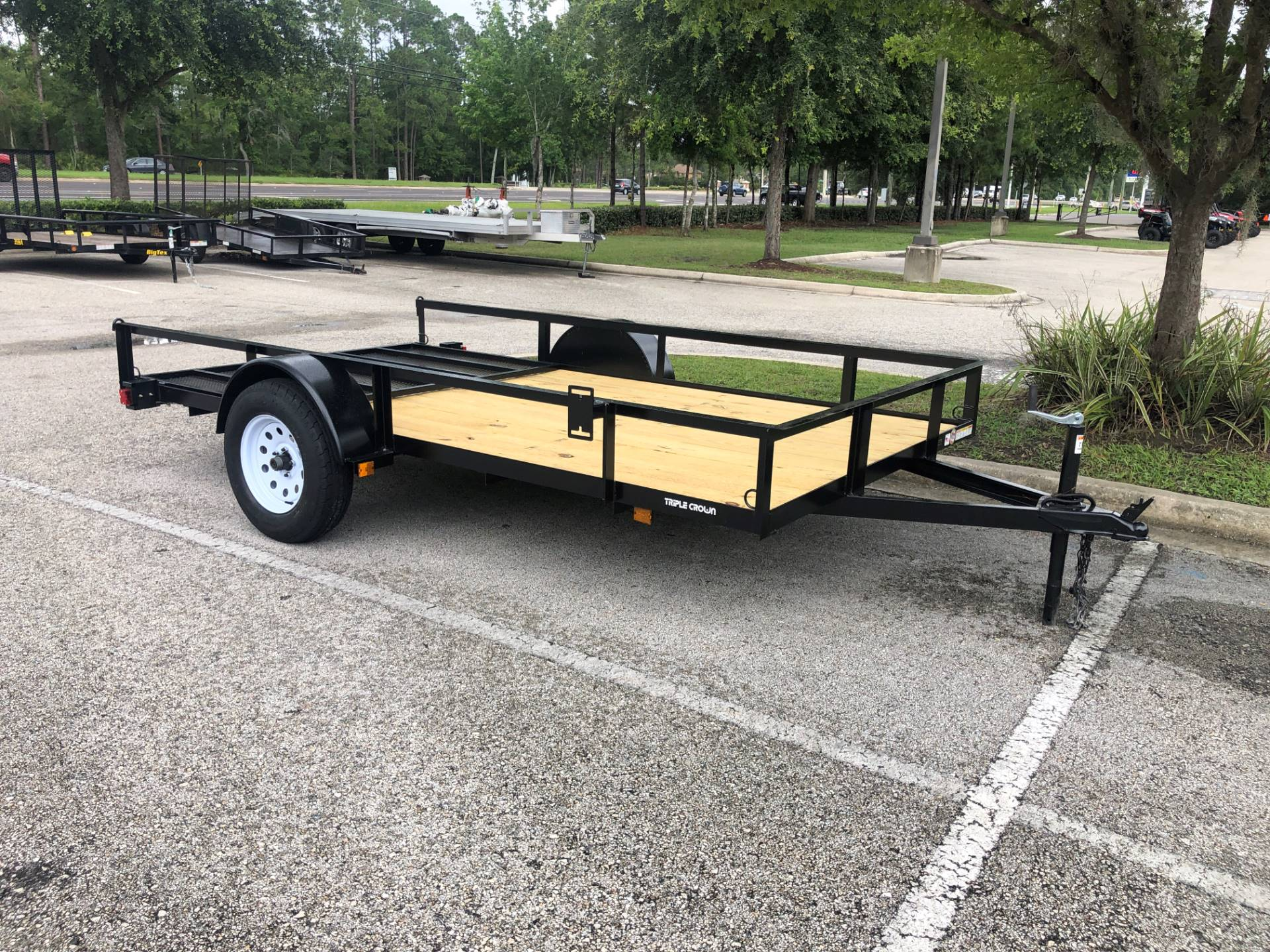 2020 TRIPLE CROWN TRAILERS 6X12 UTILITY in Fleming Island, Florida - Photo 2