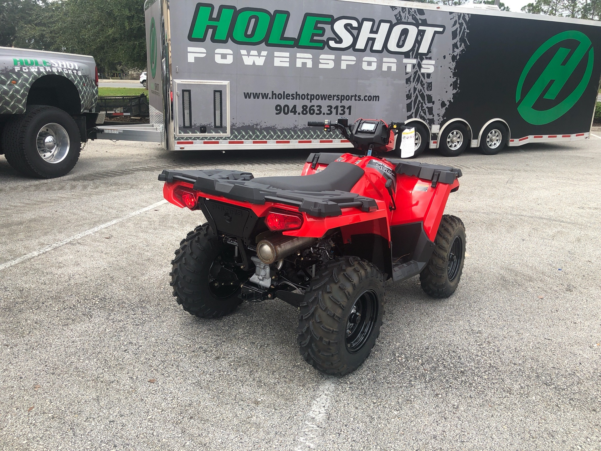 2019 Polaris Sportsman 450 H.O. in Fleming Island, Florida - Photo 4