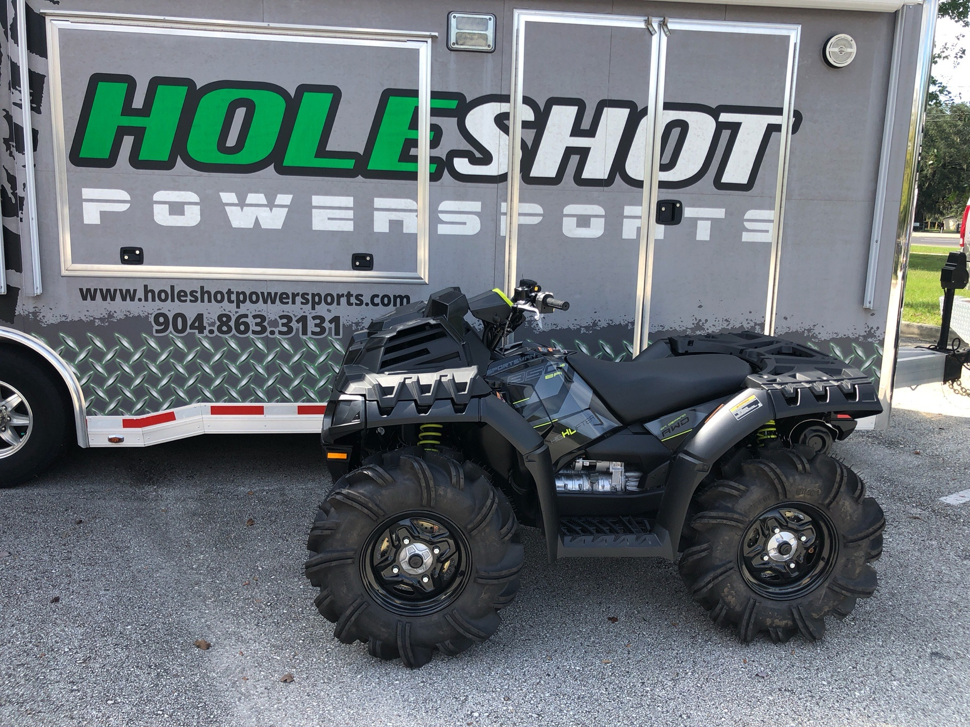 2020 Polaris Sportsman 850 High Lifter Edition in Fleming Island, Florida - Photo 1