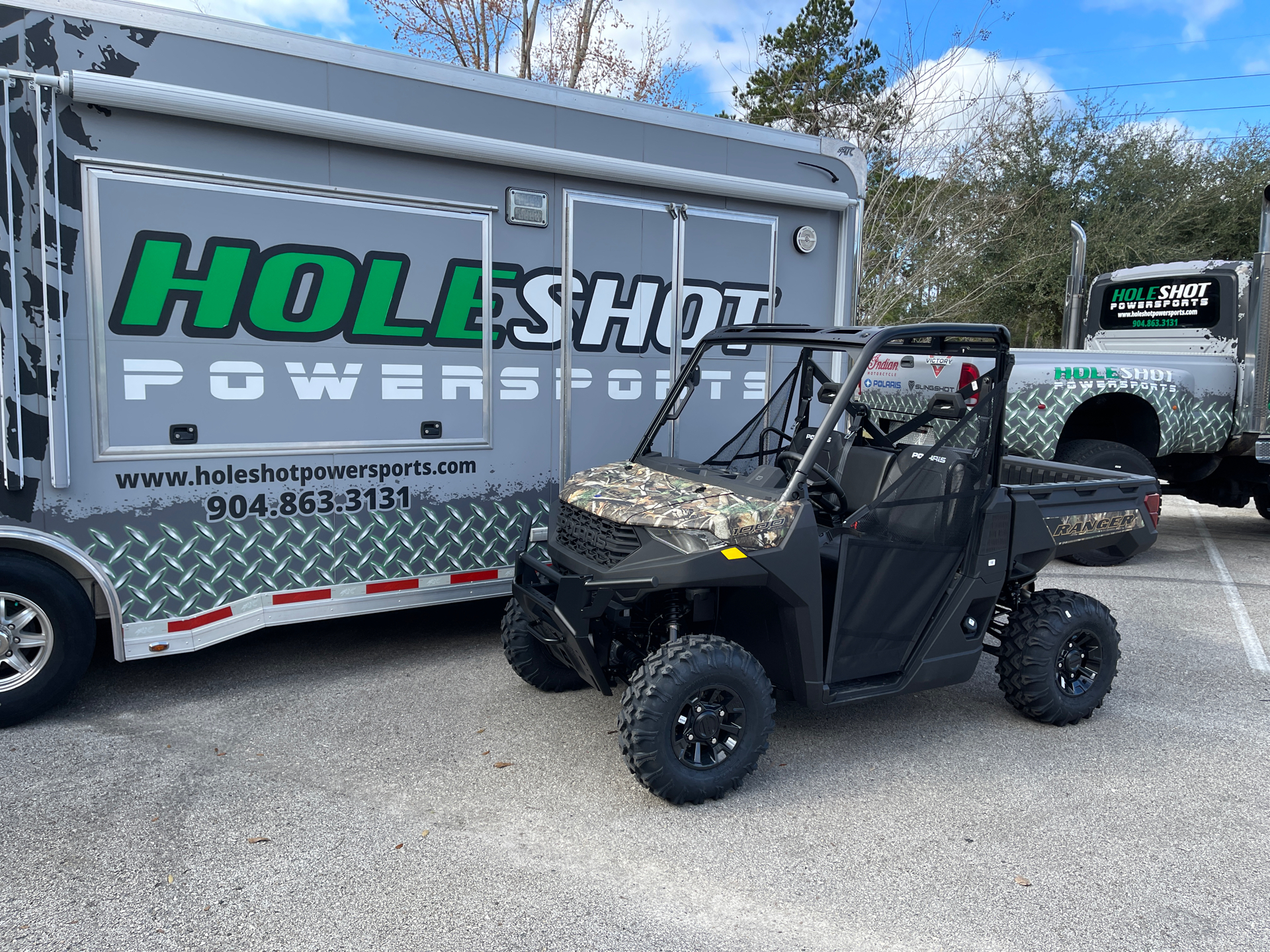 2021 Polaris Ranger 1000 Premium in Fleming Island, Florida - Photo 1