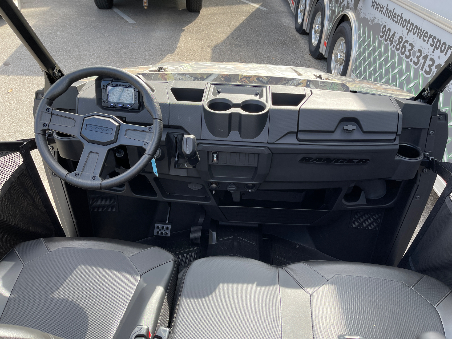 2021 Polaris Ranger 1000 Premium in Fleming Island, Florida - Photo 3