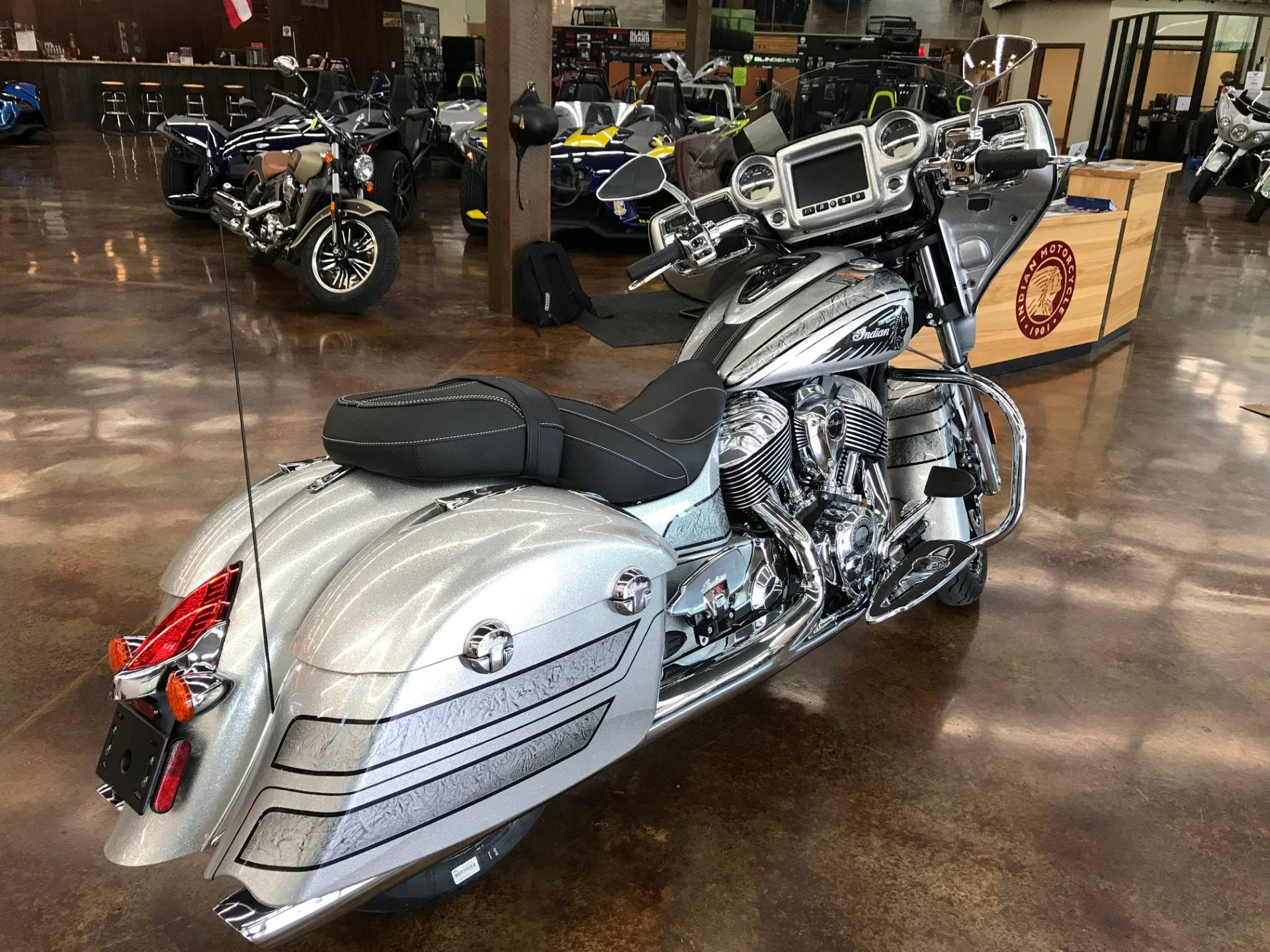 2018 Indian Chieftain Elite in Fleming Island, Florida