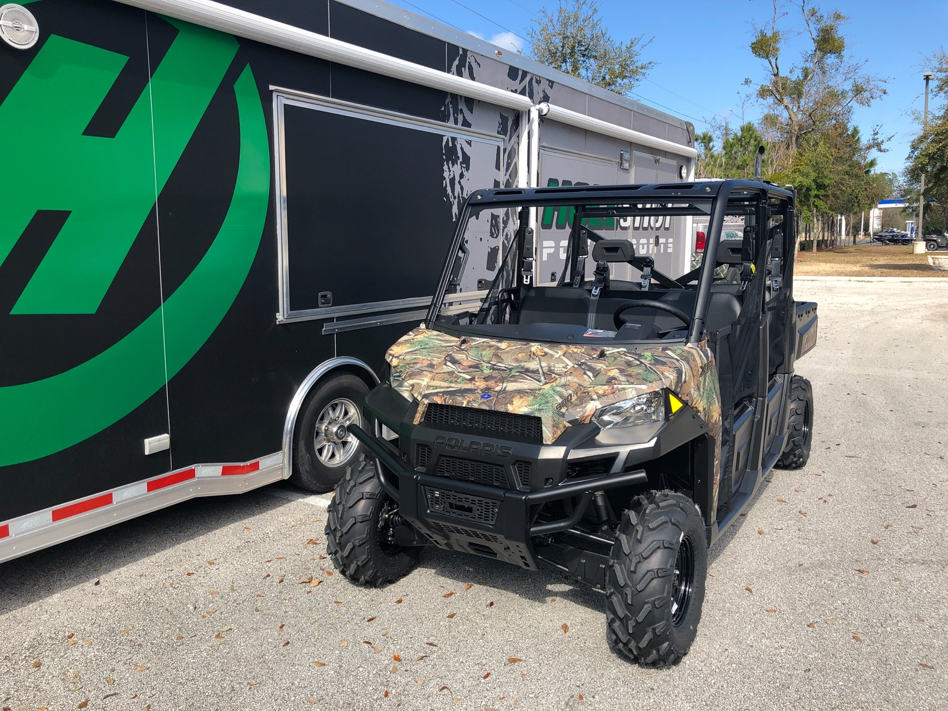 2019 Polaris Ranger Crew XP 900 EPS in Fleming Island, Florida - Photo 2