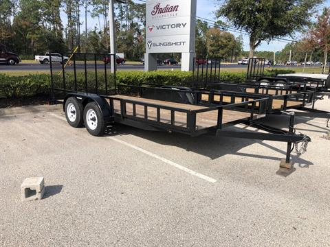 2021 TRIPLE CROWN TRAILERS 7X16 ATV UTILITY in Fleming Island, Florida - Photo 1