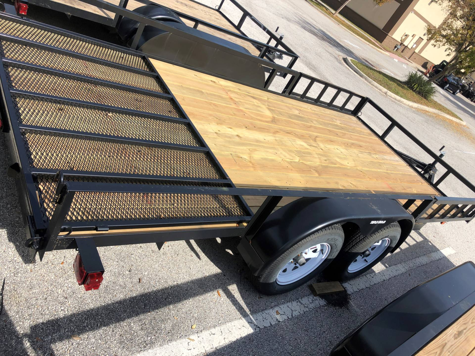 2021 TRIPLE CROWN TRAILERS 7X16 ATV UTILITY in Fleming Island, Florida - Photo 4