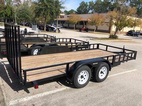 2021 TRIPLE CROWN TRAILERS 7X16 ATV UTILITY in Fleming Island, Florida - Photo 3