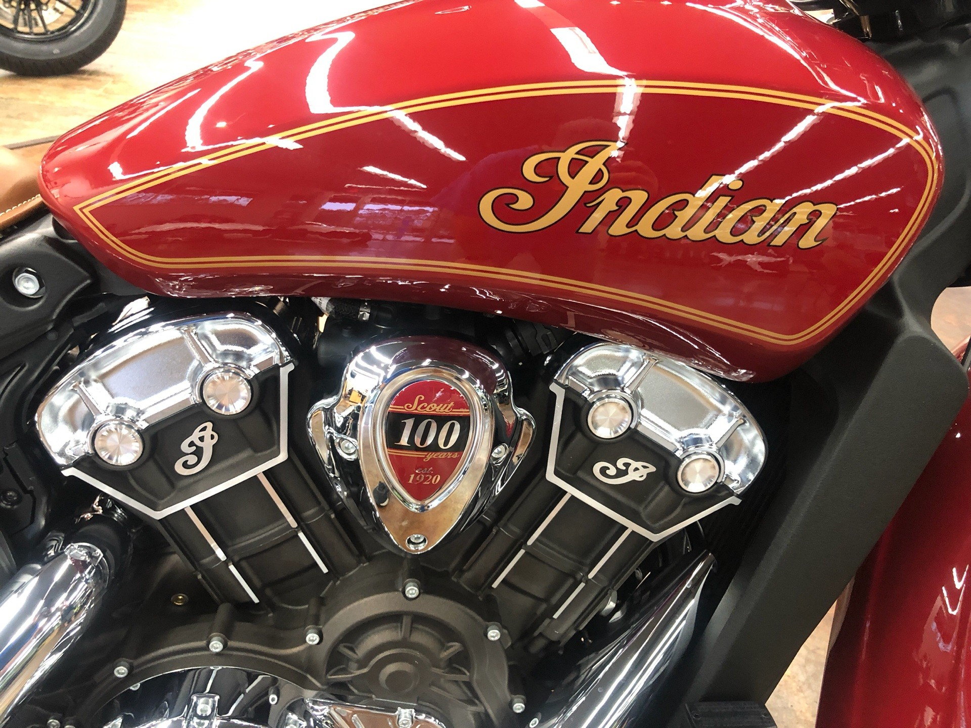 2020 Indian Scout® 100th Anniversary in Fleming Island, Florida - Photo 4