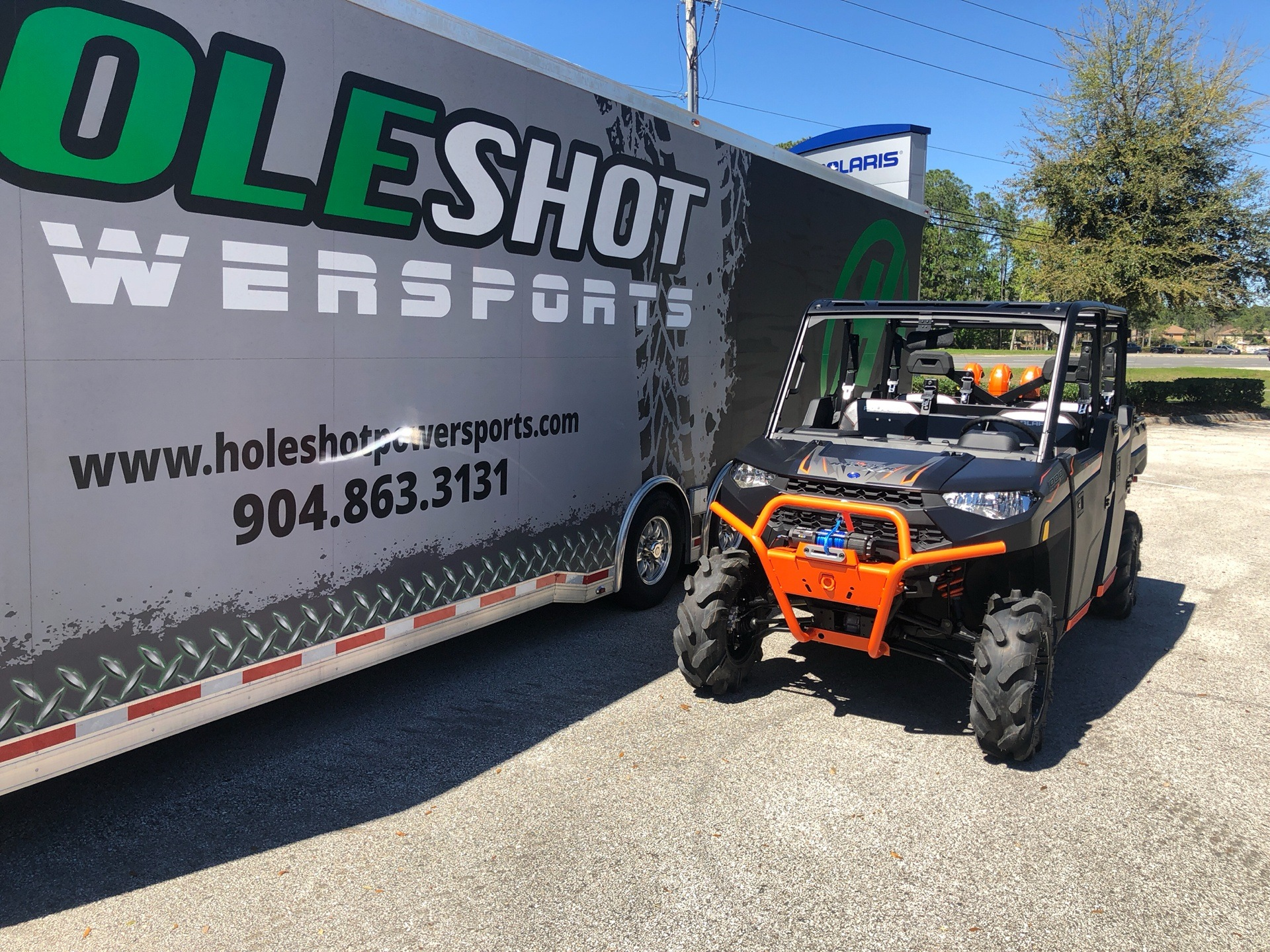 2019 Polaris Ranger Crew XP 1000 EPS High Lifter Edition in Fleming Island, Florida - Photo 2