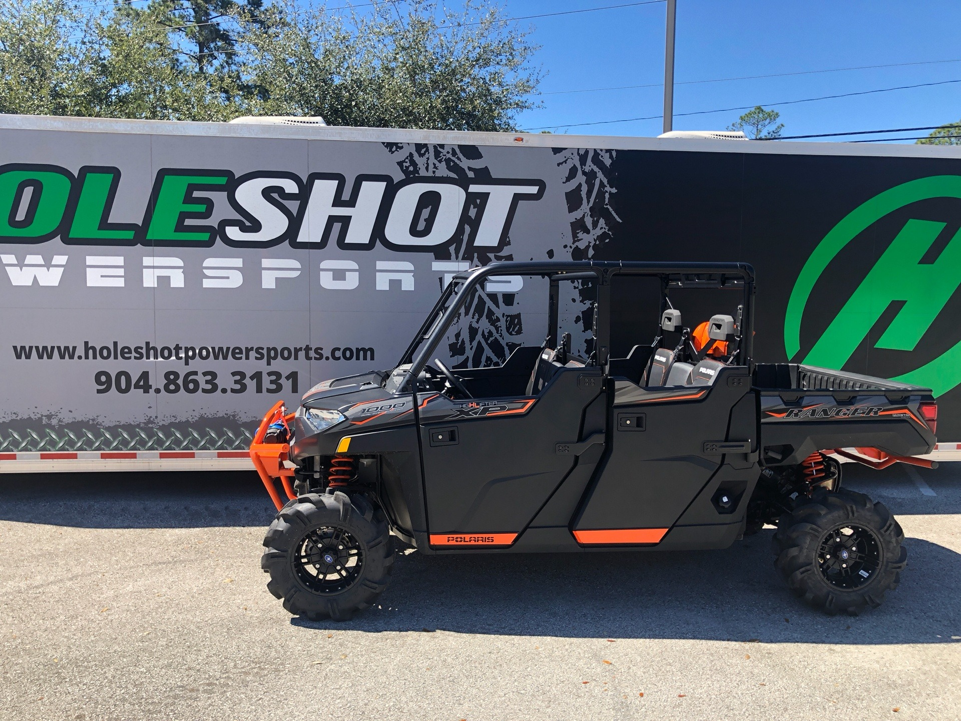 2019 Polaris Ranger Crew XP 1000 EPS High Lifter Edition in Fleming Island, Florida - Photo 3