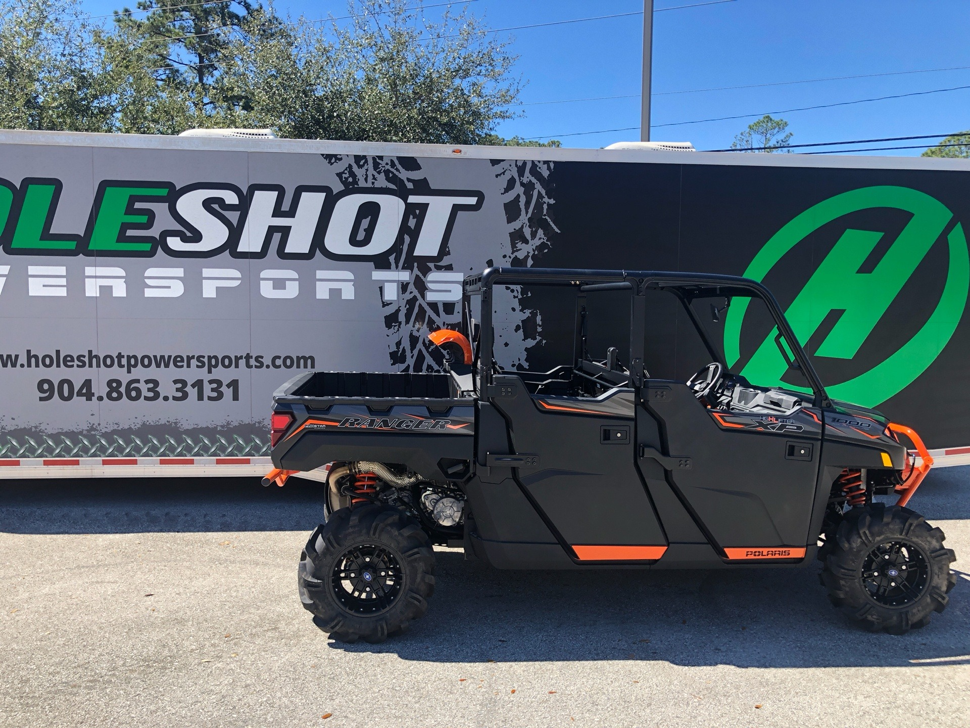 2019 Polaris Ranger Crew XP 1000 EPS High Lifter Edition in Fleming Island, Florida - Photo 1
