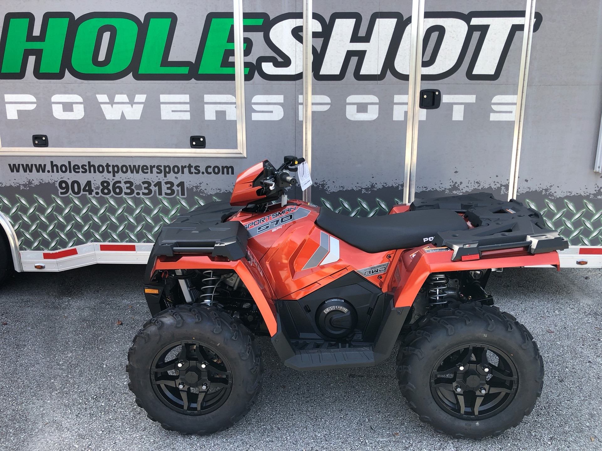 2020 Polaris Sportsman 570 Premium in Fleming Island, Florida - Photo 1