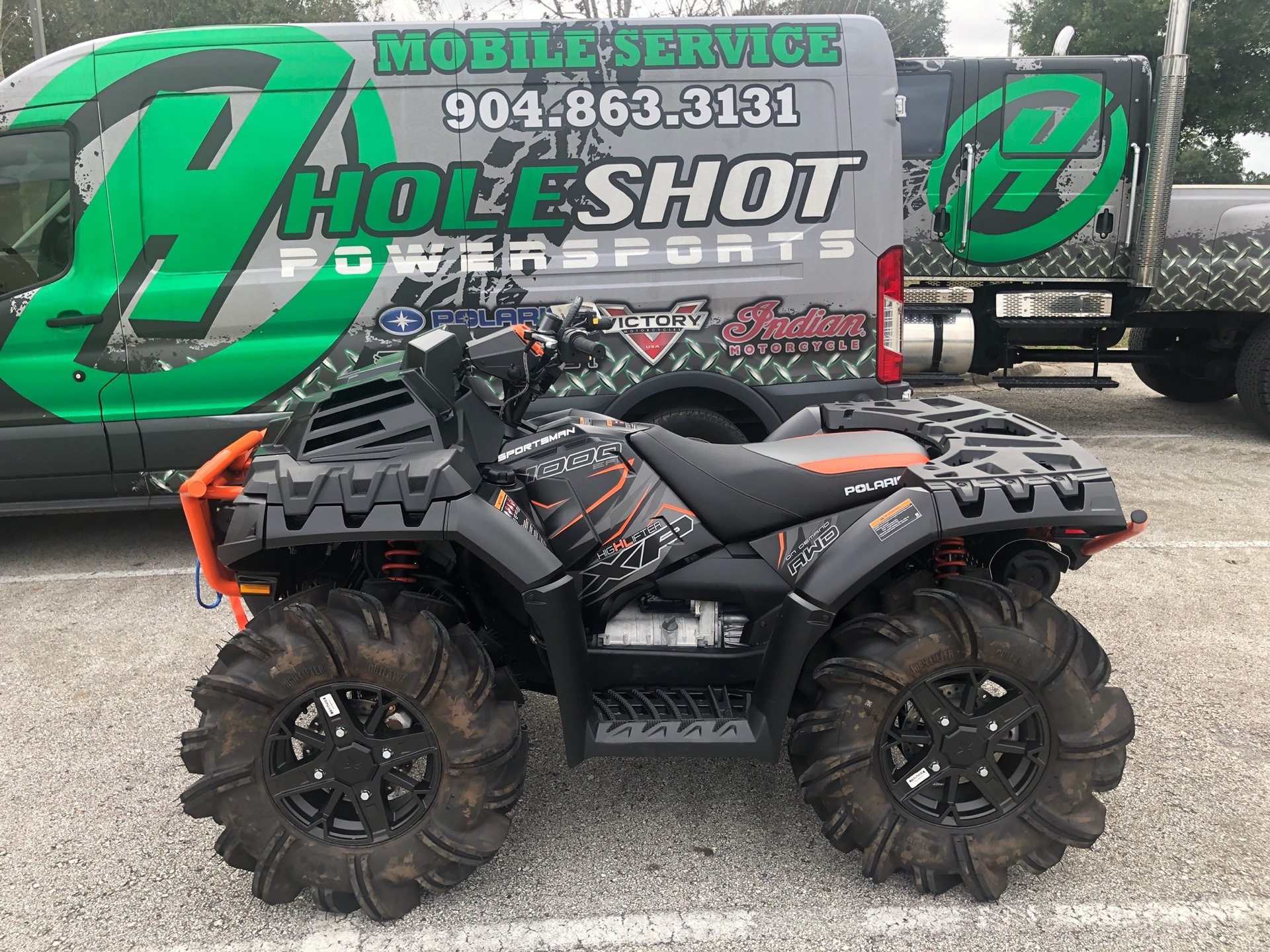 2019 Polaris Sportsman XP 1000 High Lifter Edition in Fleming Island, Florida - Photo 1