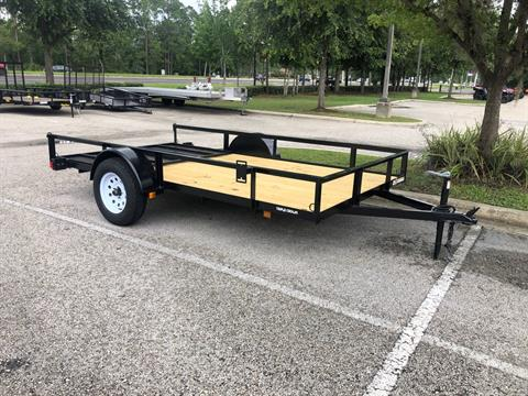 2021 TRIPLE CROWN TRAILERS 6X12 ATV TRAILER in Fleming Island, Florida - Photo 1