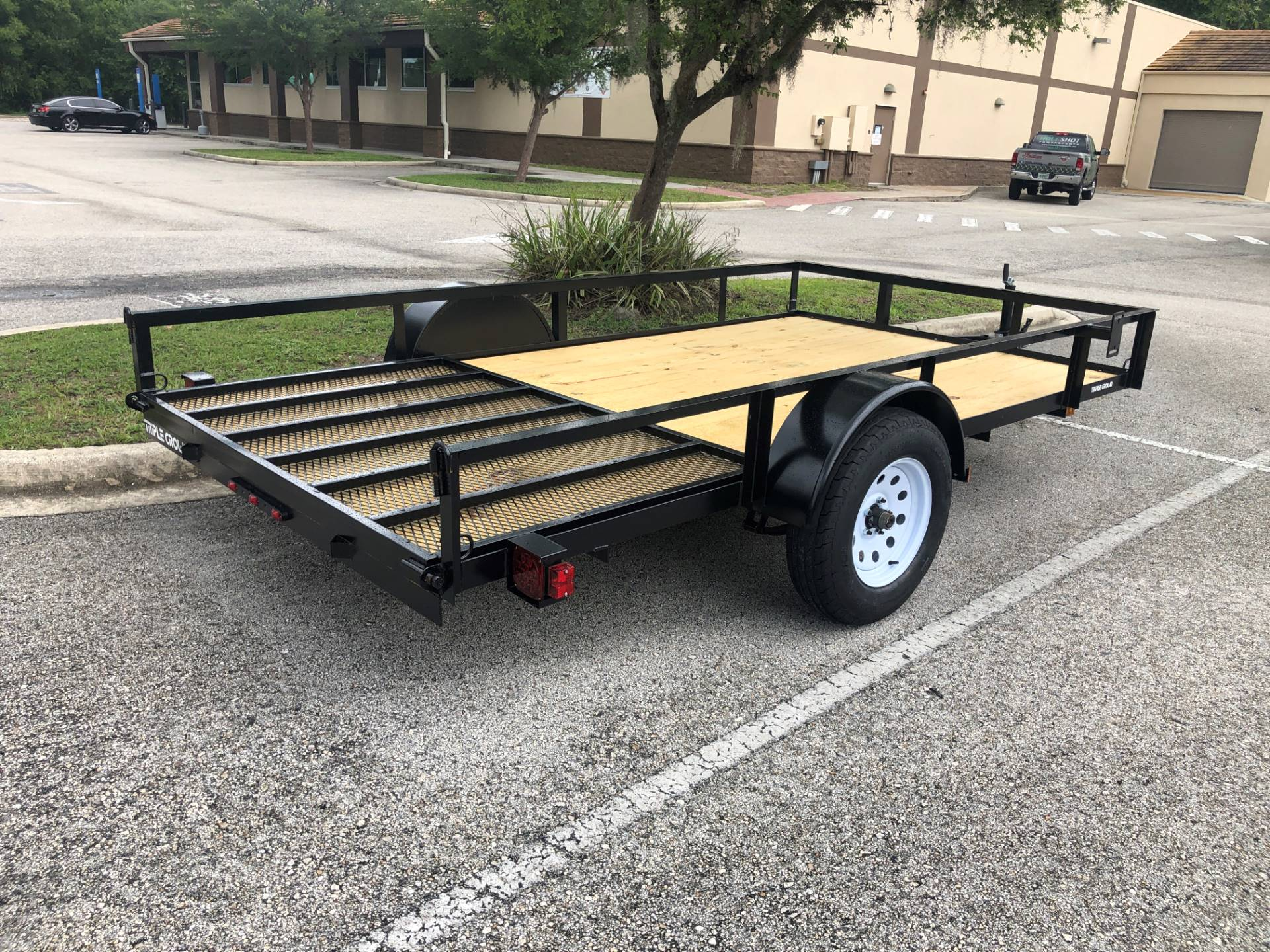 2021 TRIPLE CROWN TRAILERS 6X12 ATV TRAILER in Fleming Island, Florida - Photo 2