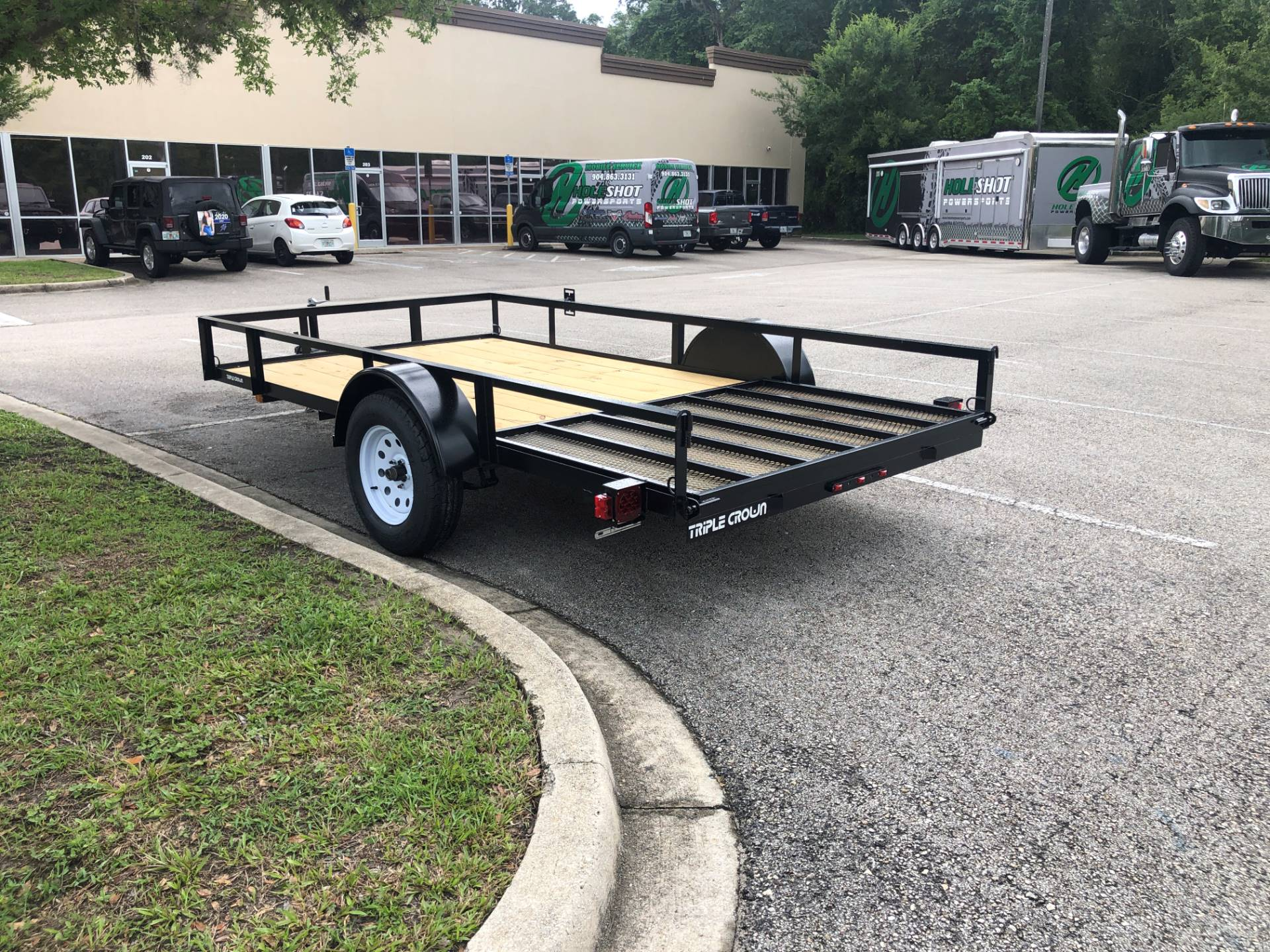 2021 TRIPLE CROWN TRAILERS 6X12 ATV TRAILER in Fleming Island, Florida - Photo 3