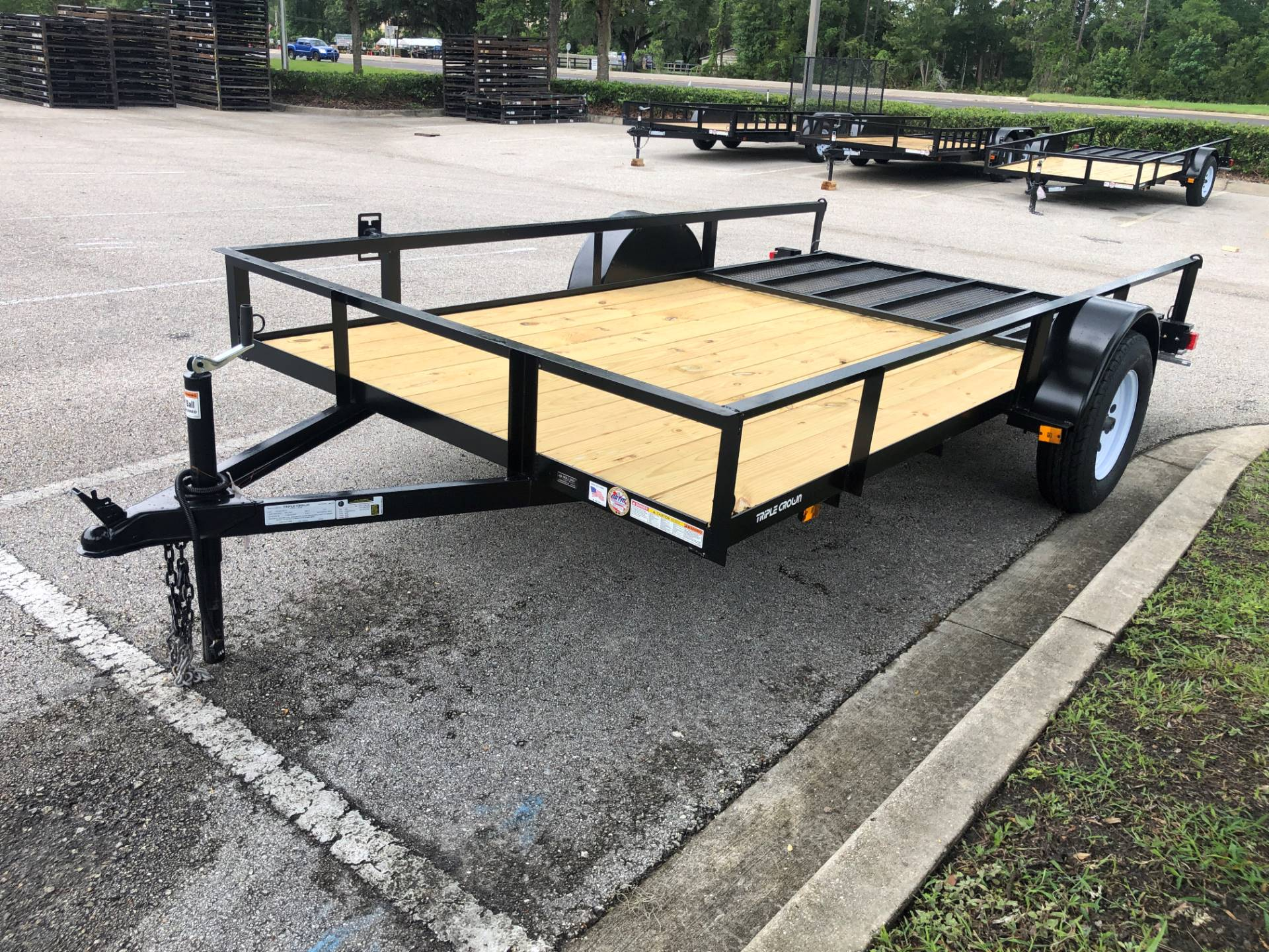 2021 TRIPLE CROWN TRAILERS 6X12 ATV TRAILER in Fleming Island, Florida - Photo 4