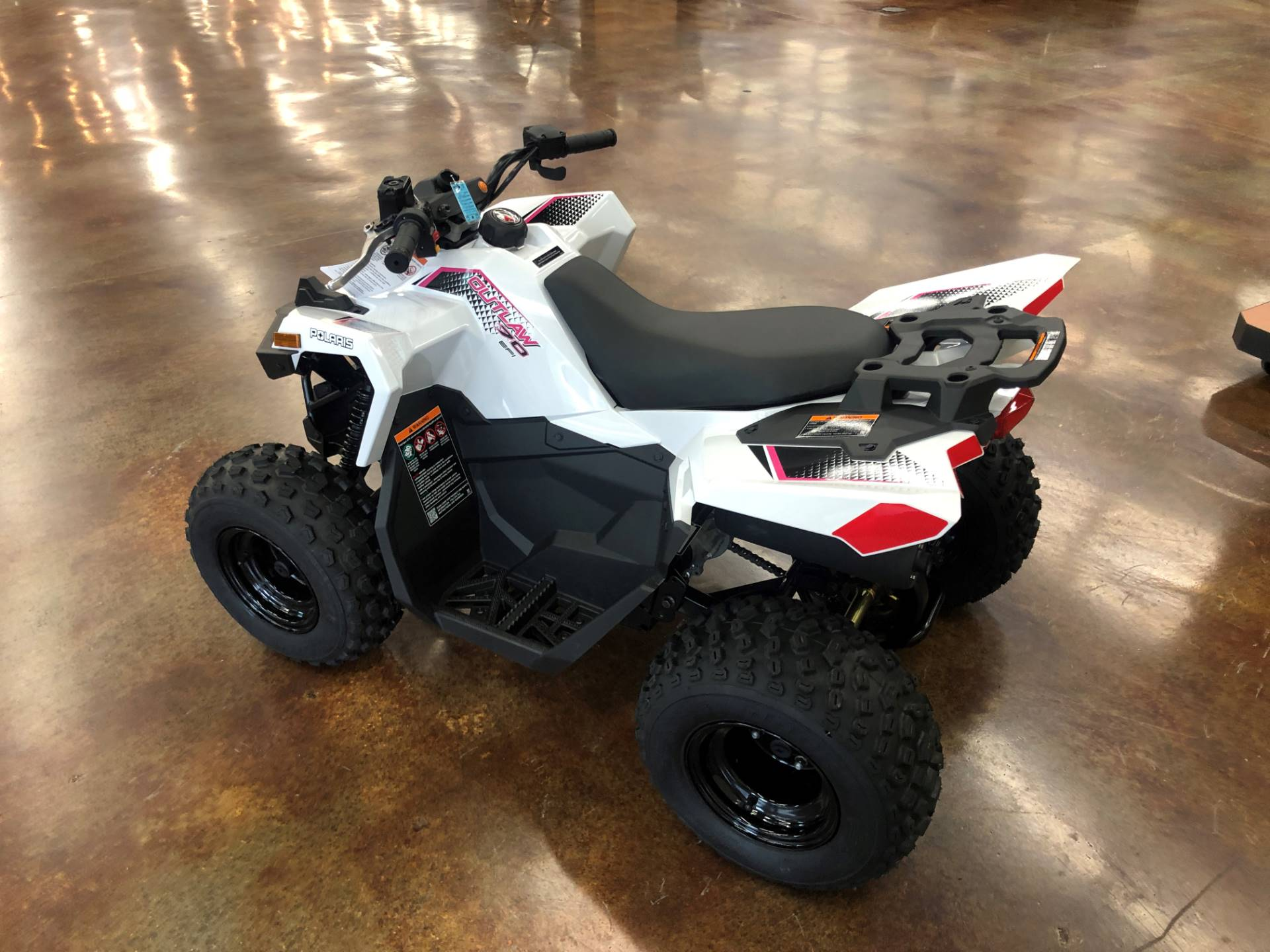 2021 Polaris Outlaw 70 EFI in Fleming Island, Florida - Photo 3