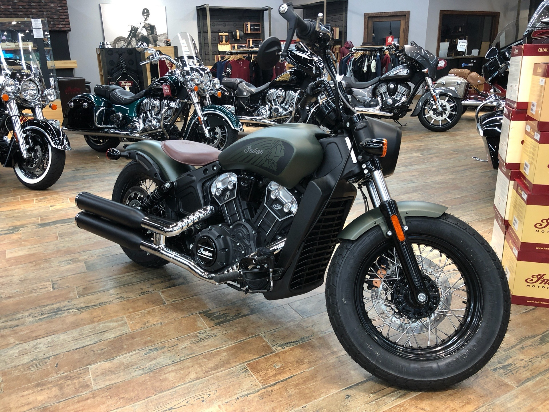 2020 Indian Scout® Bobber Twenty ABS in Fleming Island, Florida - Photo 1
