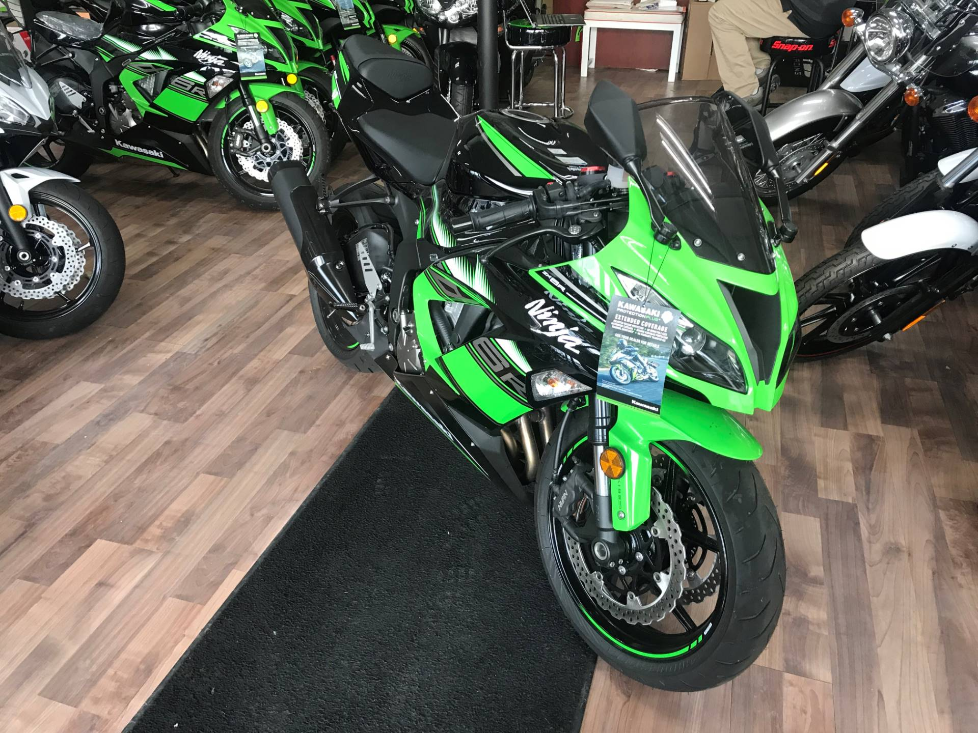 2016 Kawasaki Ninja ZX-6R ABS KRT Edition in White Plains, New York